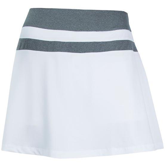 e35668aa48bf Fila Womens Game Day Flirty Skort - White/Grey - Tennisnuts.com