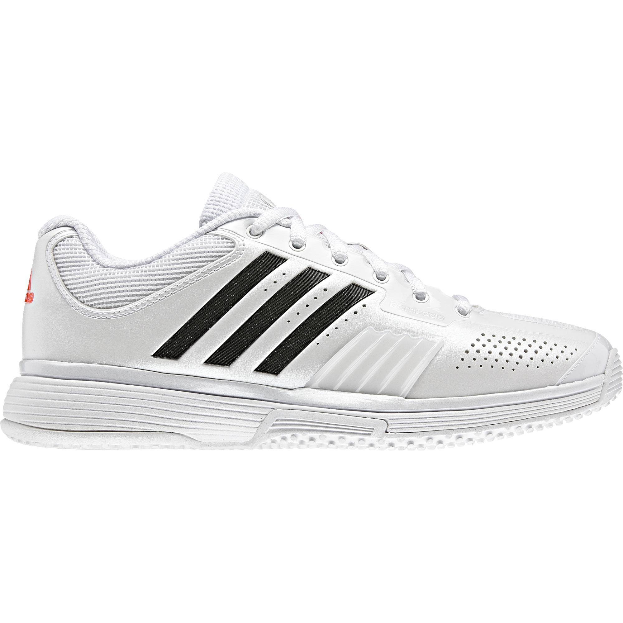 9f5ab1064855 Adidas Womens Adipower Barricade Grass Court Tennis Shoes - White -  Tennisnuts.com