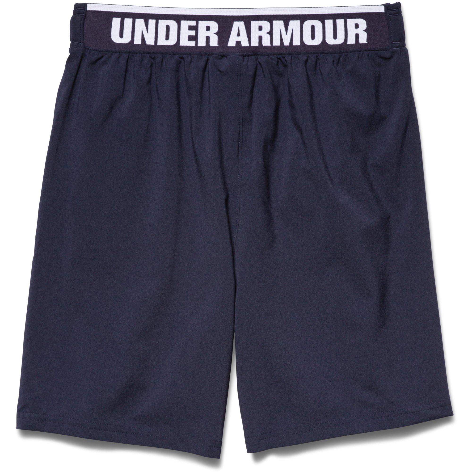 under armour mens mirage 8 inch shorts midnight navy. Black Bedroom Furniture Sets. Home Design Ideas