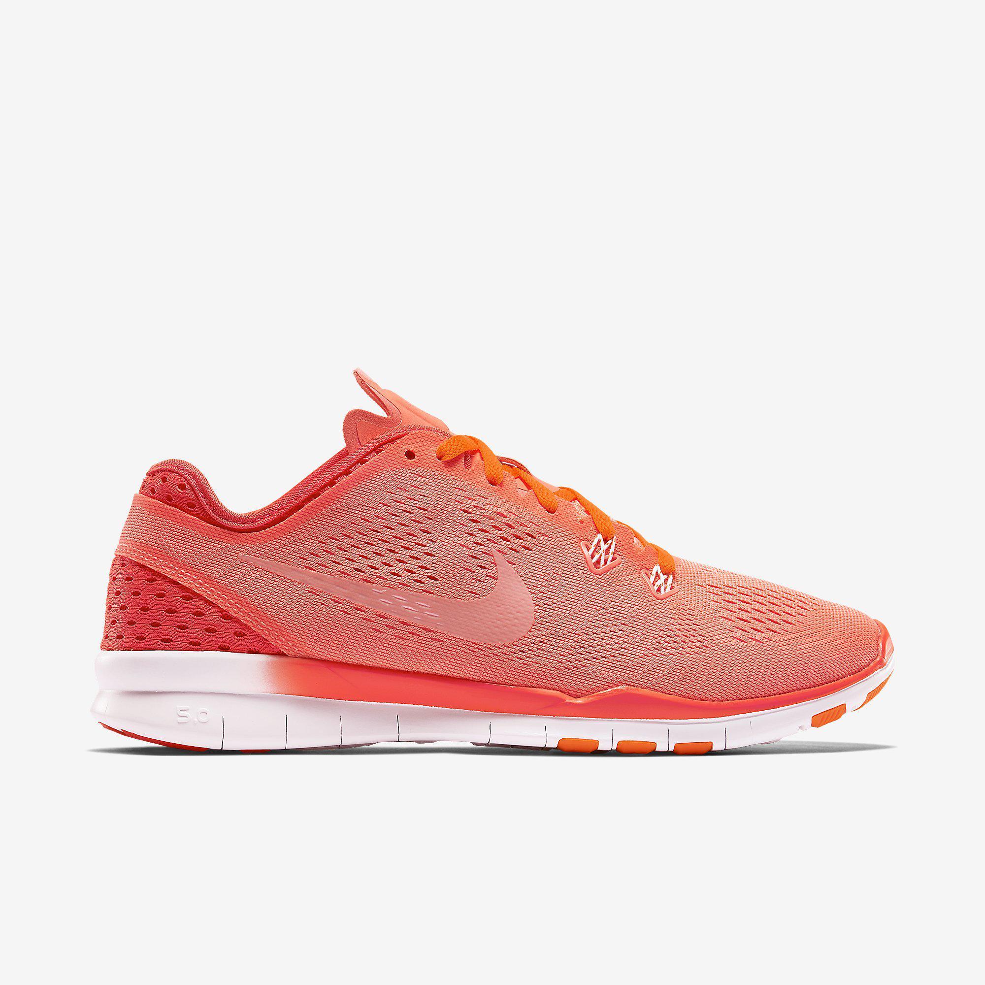 nike free 5.0 breathe Nike Womens Free 5.0 TR Breathe Training Shoes - Lava Glow/Bright ...