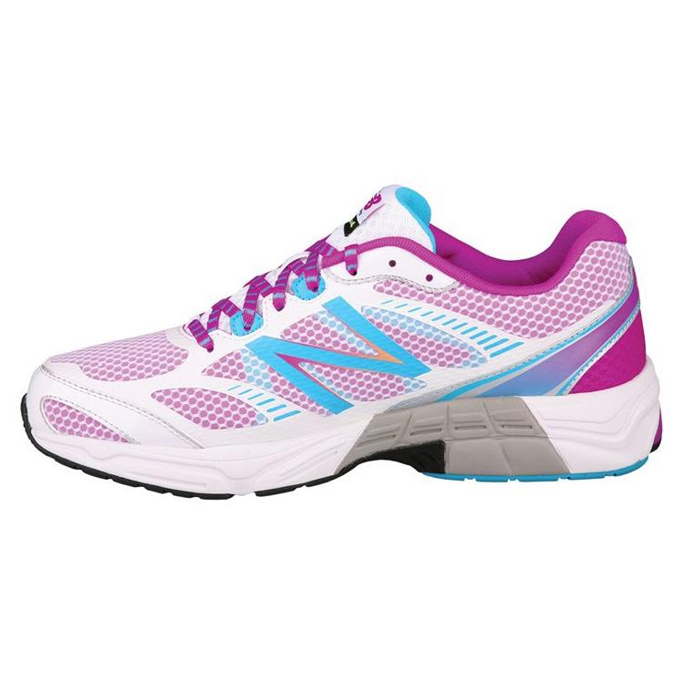 new balance w660v4 womens b running shoes white pink