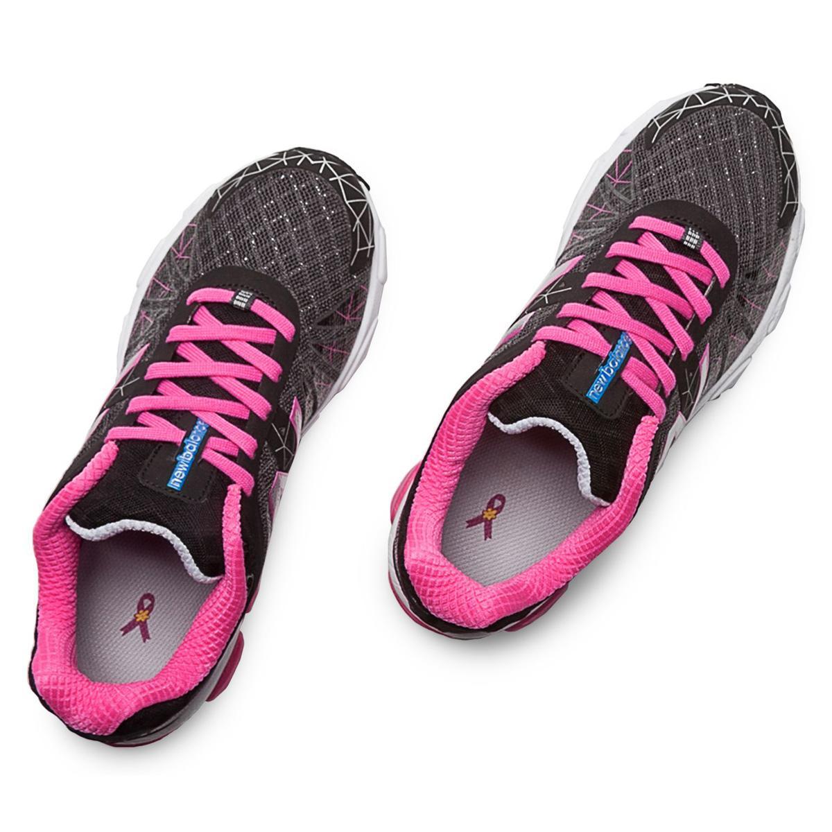 New Balance Womens W V Neutral Running Shoes Black Pink