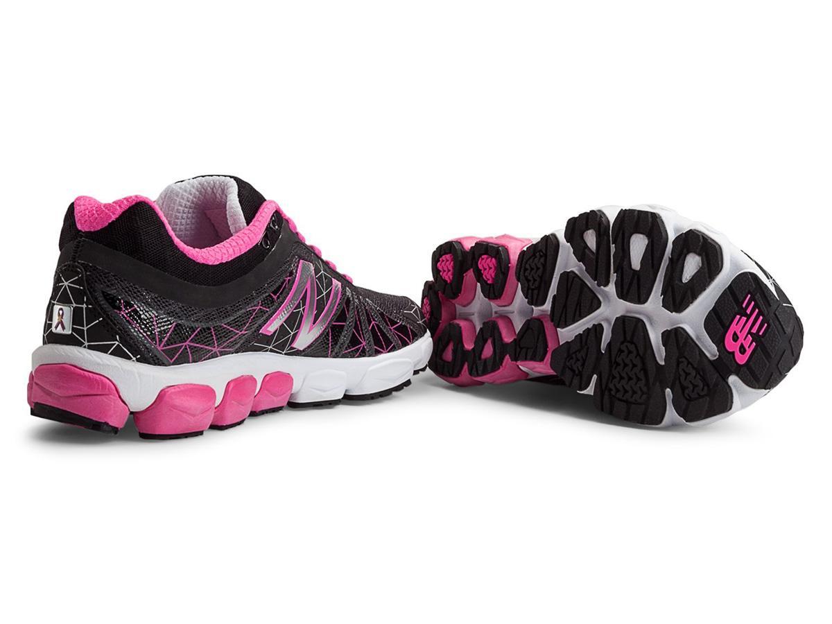 new balance w890v4 womens b running shoes black pink