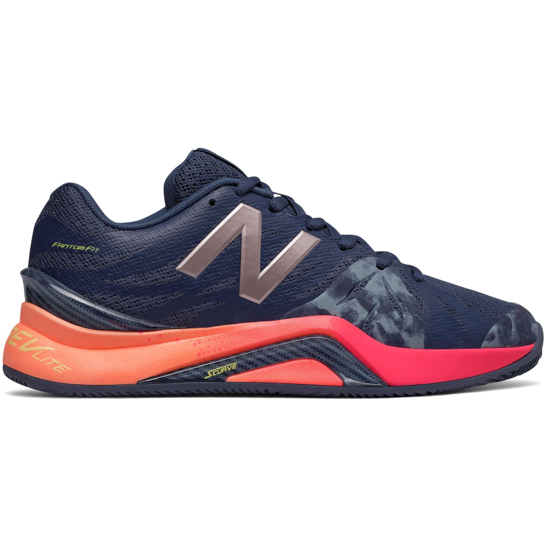 timeless design 112d0 d1ef5 New Balance Womens 1296v2 Tennis Shoes - Indigo Pink (B) - Tennisnuts.com