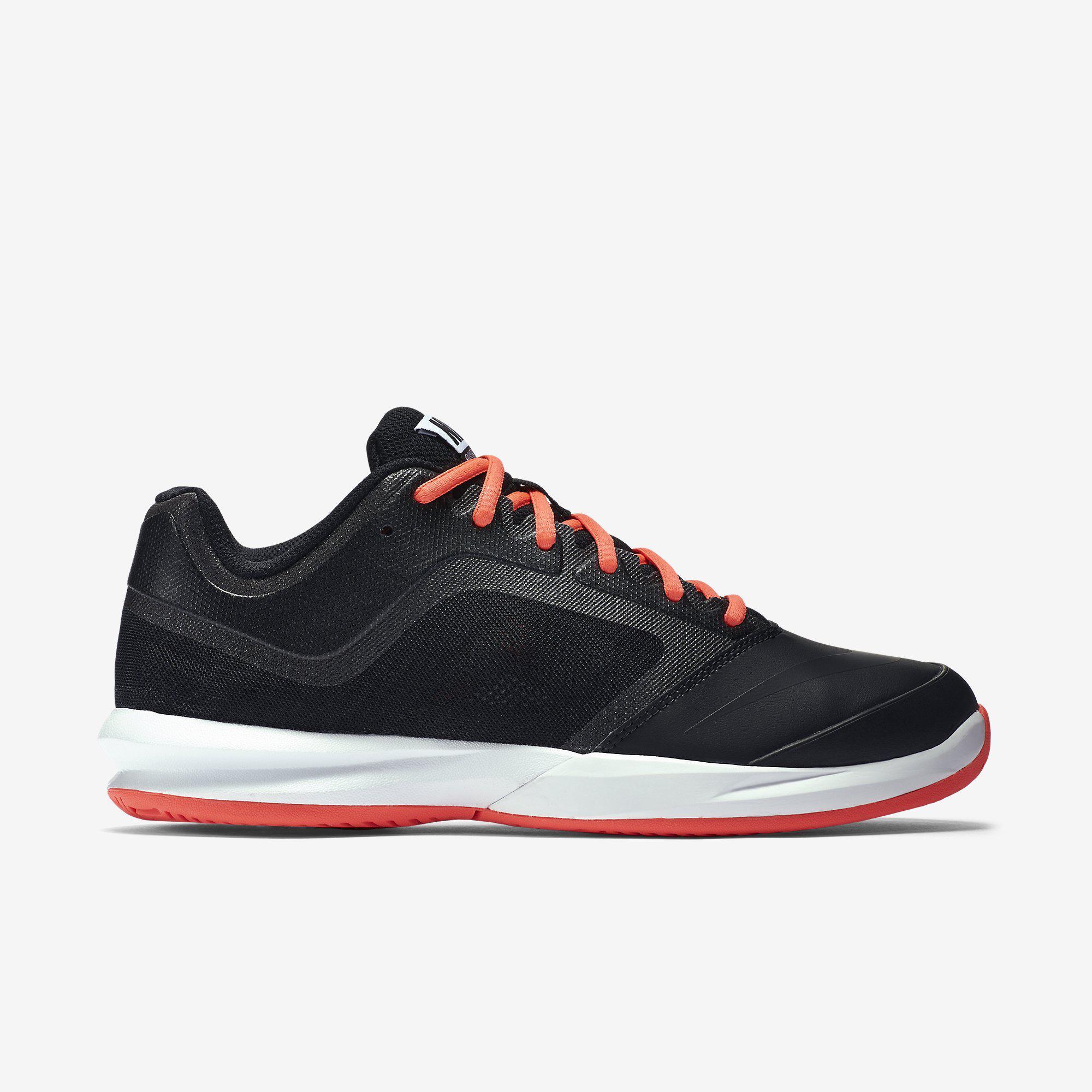 super popular 4d6ad b75da Nike Womens Dual Fusion Ballistec Advantage Tennis Shoes - Black Hot Lava -  Tennisnuts.com