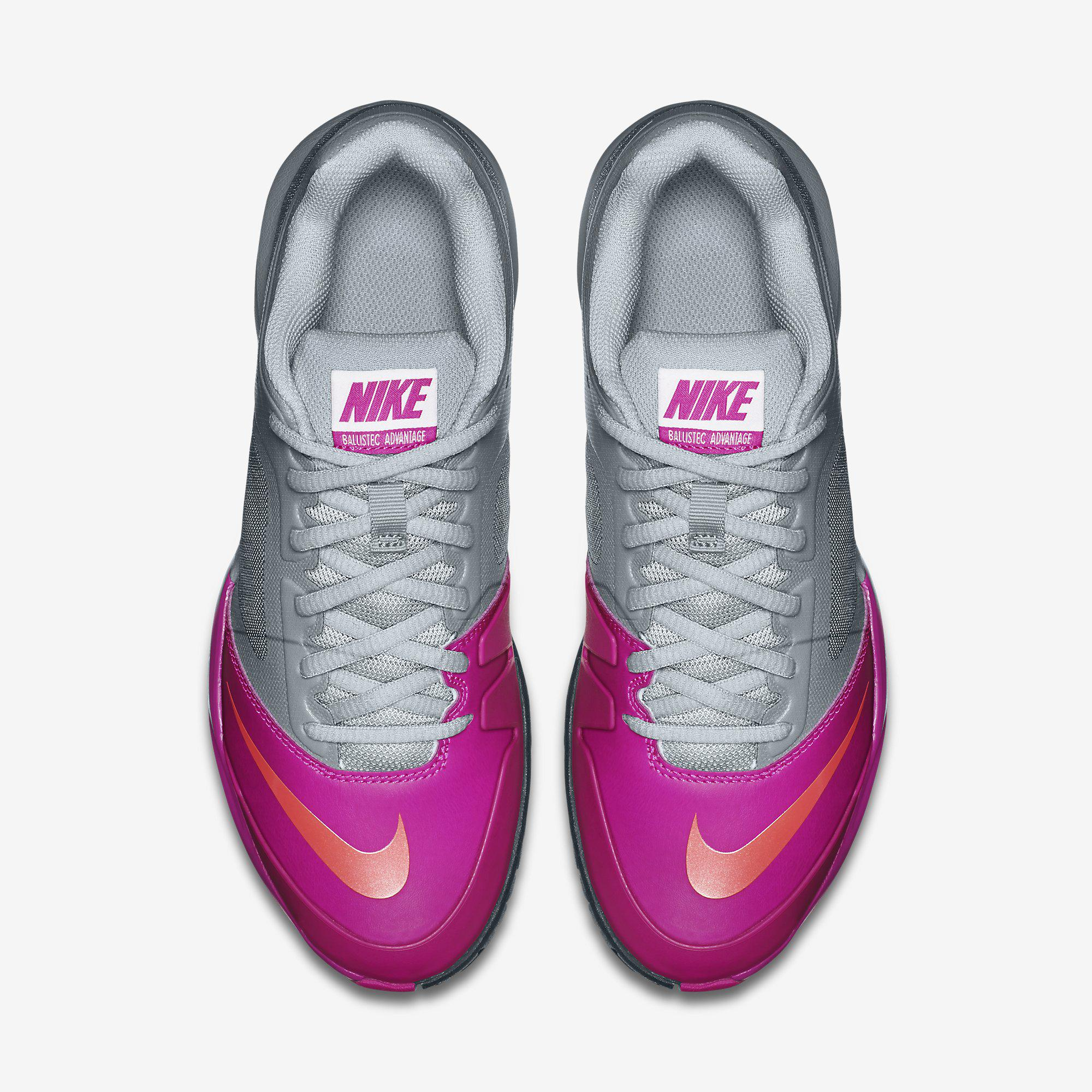 Out Of Stock. Nike Womens Dual Fusion Ballistec Advantage Tennis Shoes ...