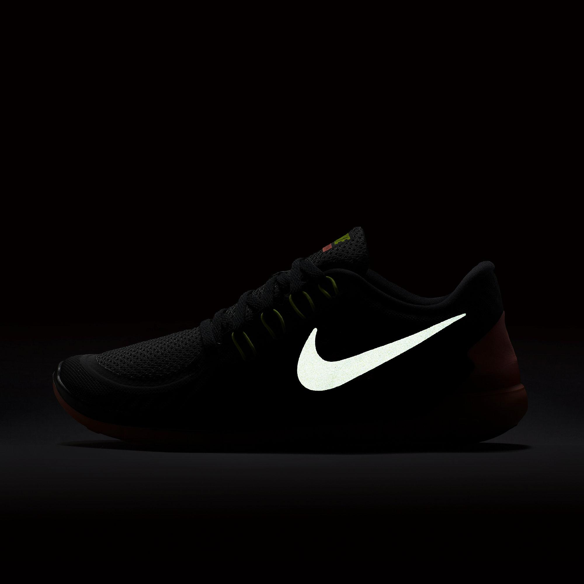 quemar canal mecánico  Nike Womens Free 5.0 Running Shoes - Black/Yellow/Mango - Tennisnuts.com