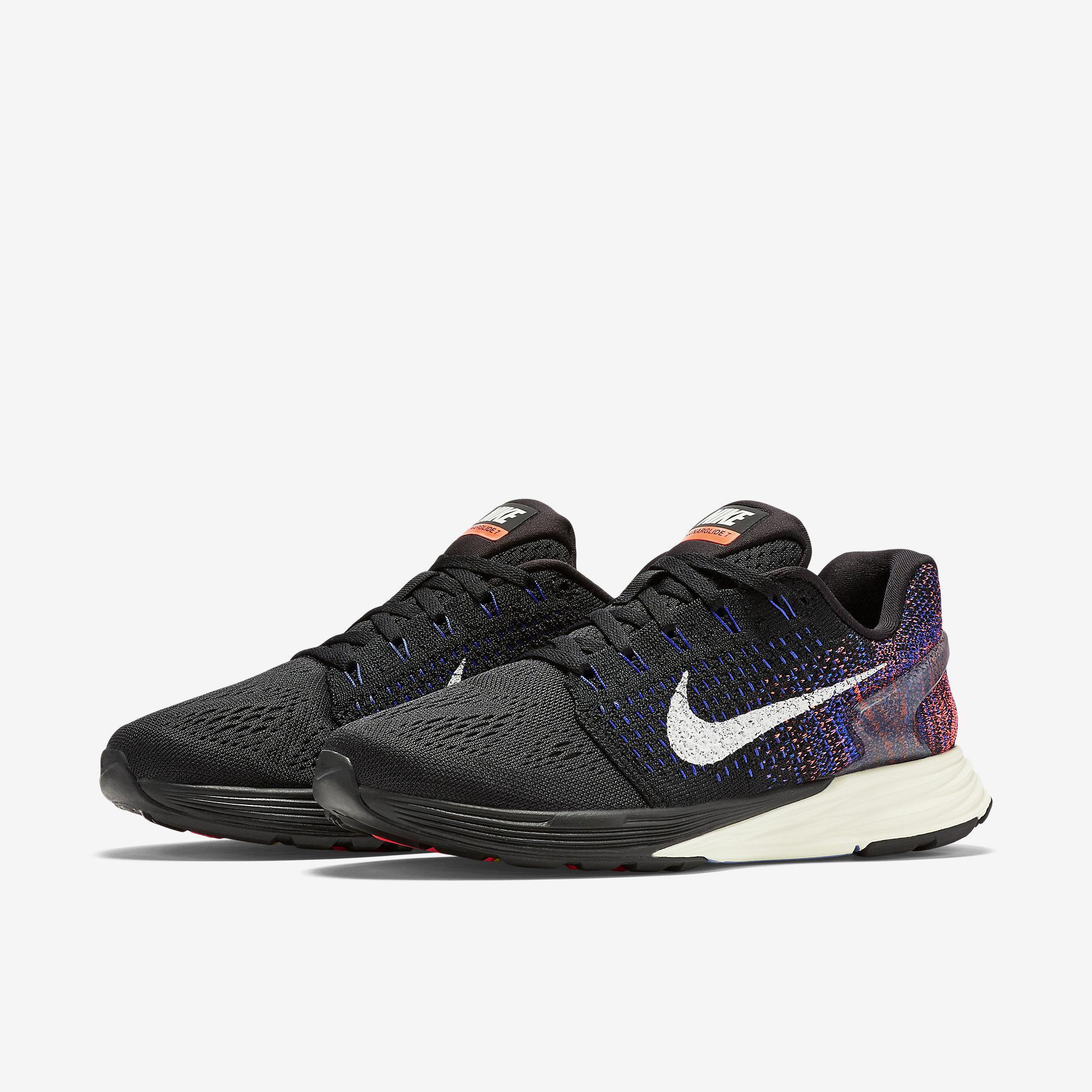 new product d01ce a4d87 ... order nike womens lunarglide 7 running shoes black blue orange a5e82  a996e