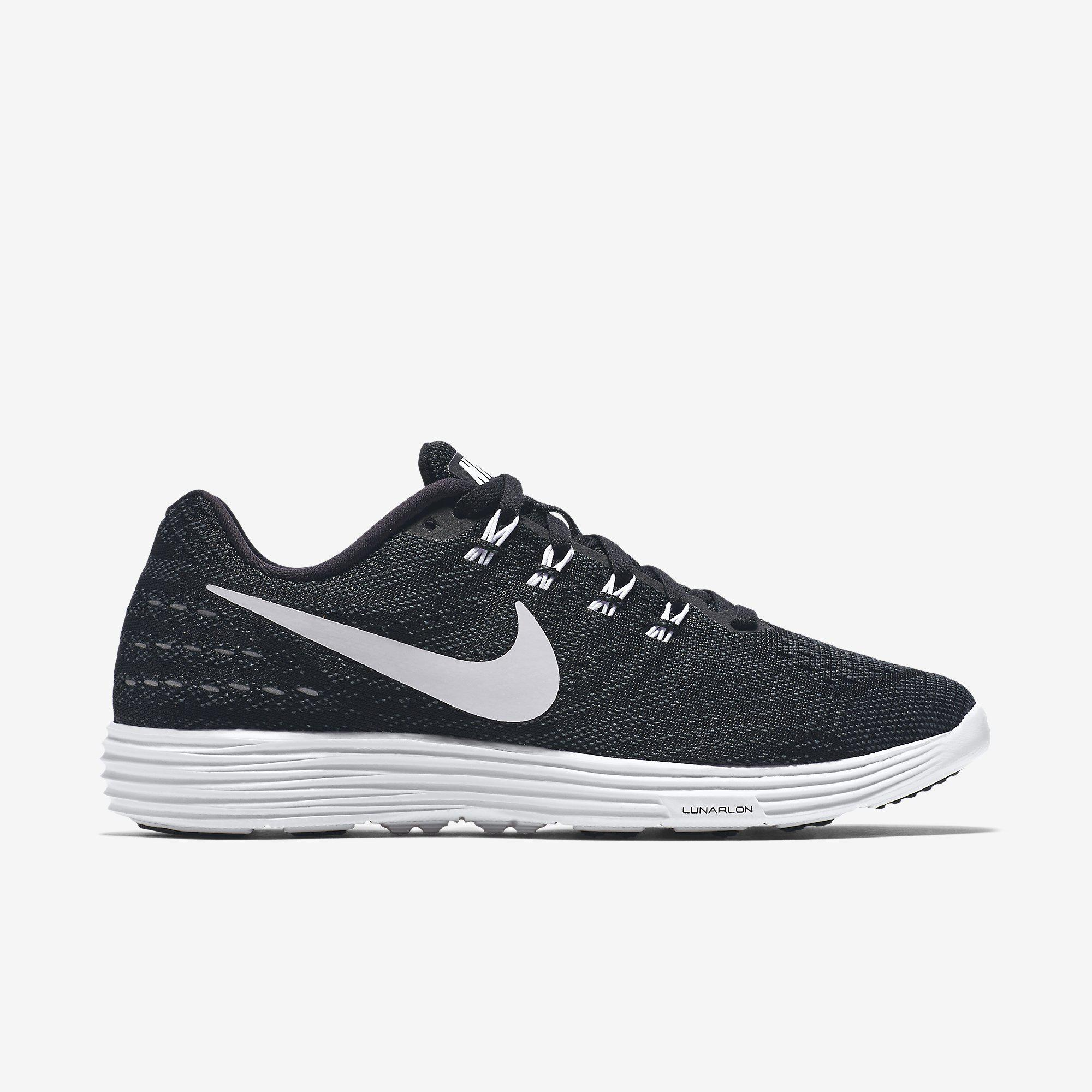 nike womens lunartempo 2 running shoes  blackwhite