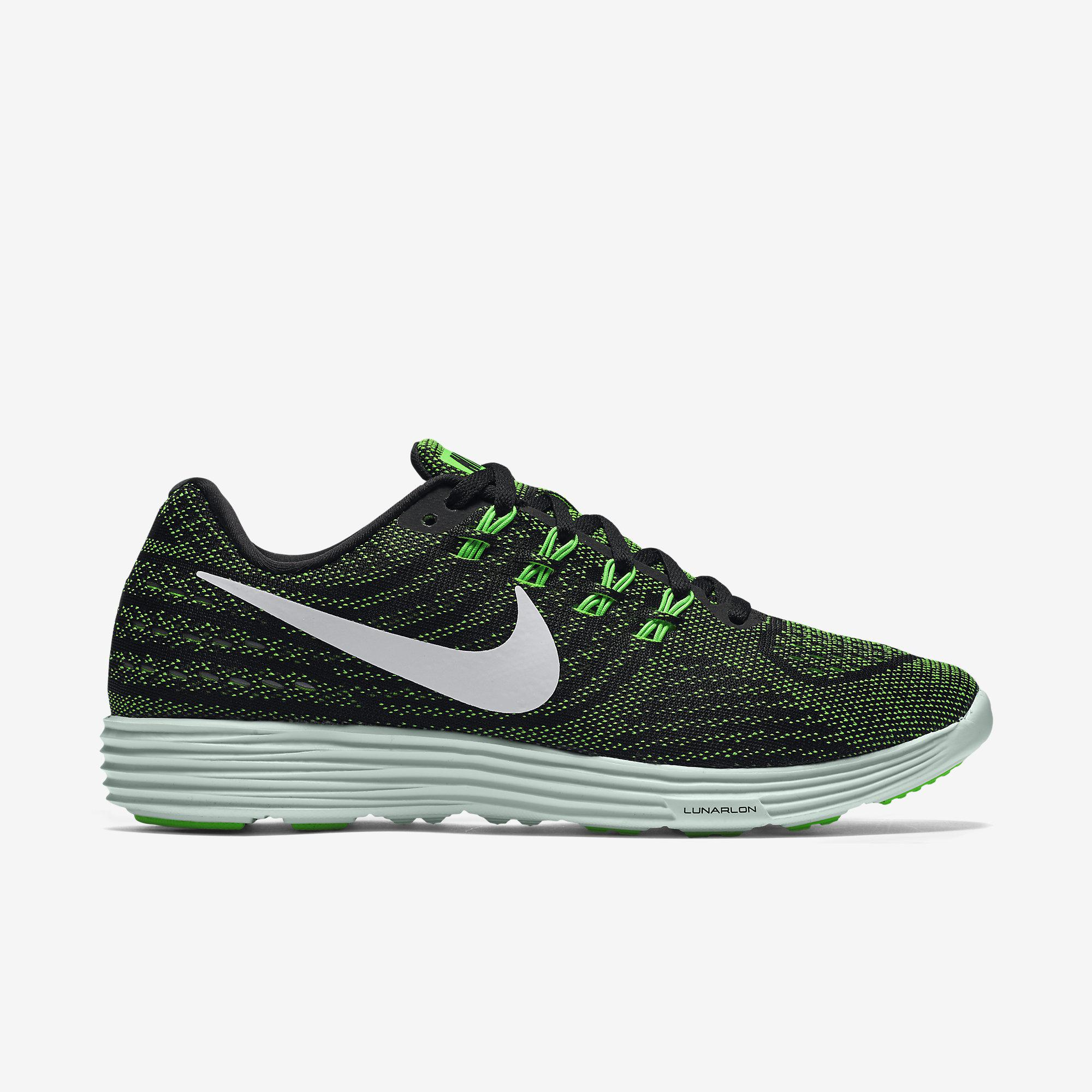 5a3edcaee1f5 Nike Womens LunarTempo 2 Running Shoes - Volt Green White - Tennisnuts.com