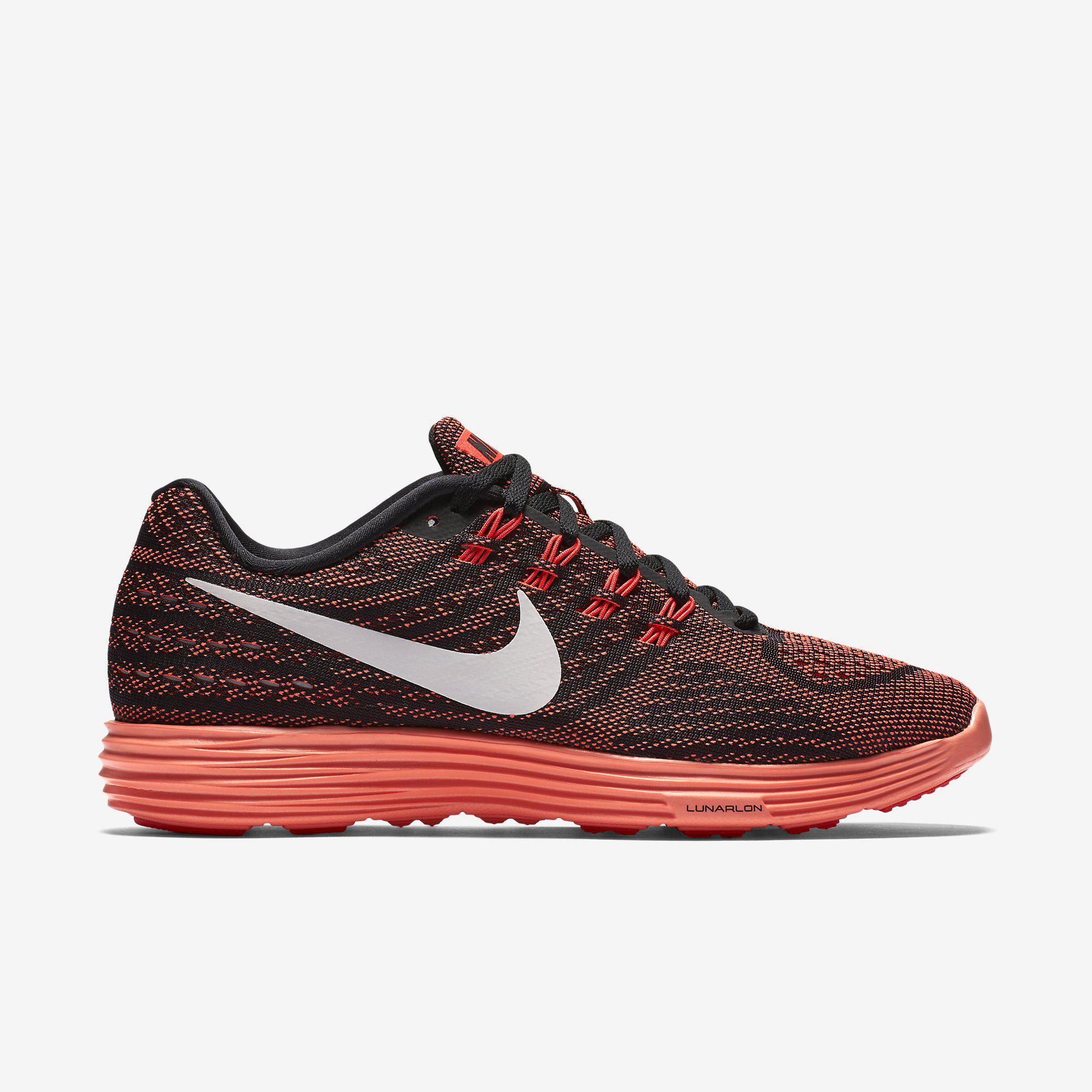 298b549e233d Nike Womens LunarTempo 2 Running Shoes - Bright Crimson Black -  Tennisnuts.com