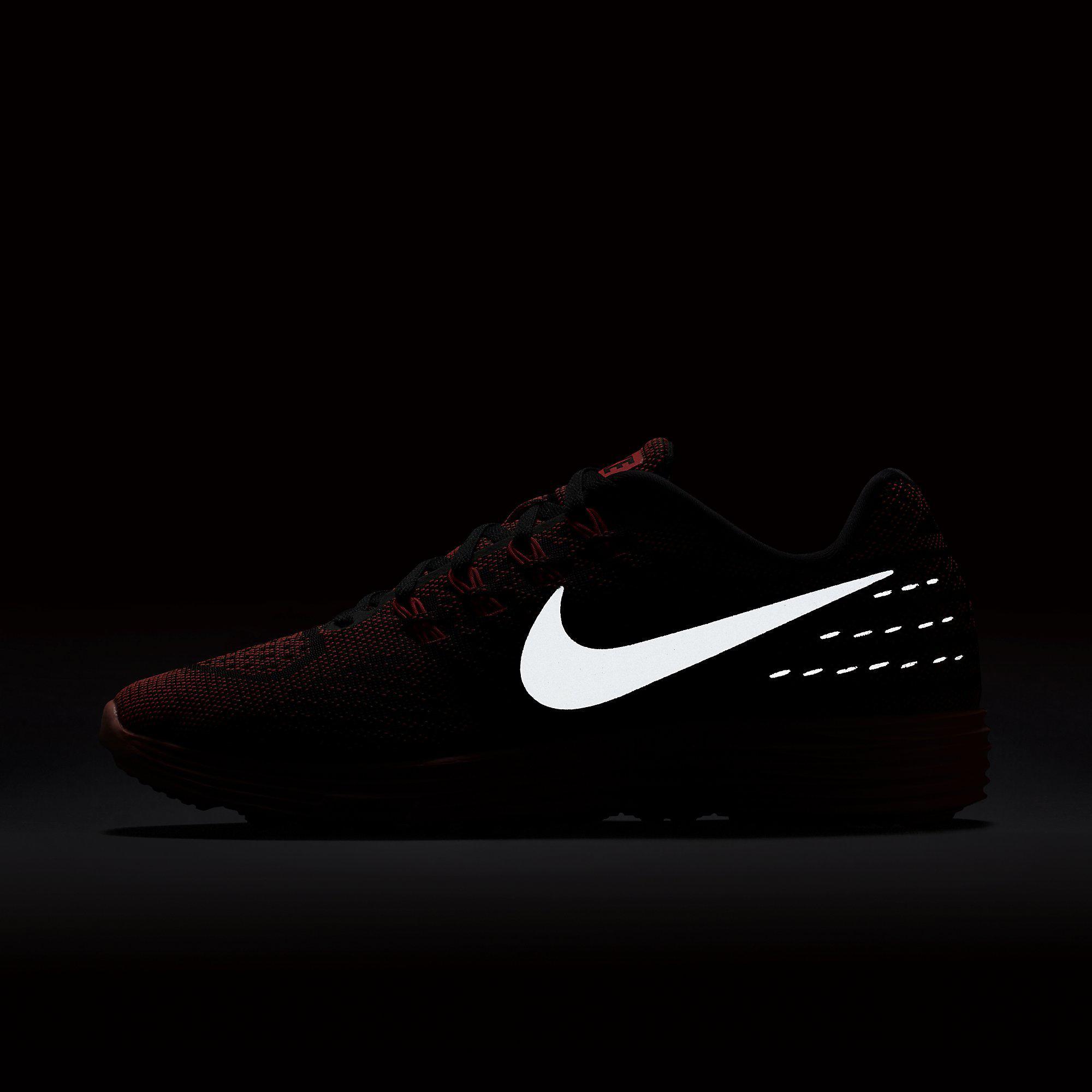 9508e1685919 Nike Womens LunarTempo 2 Running Shoes - Bright Crimson Black ...