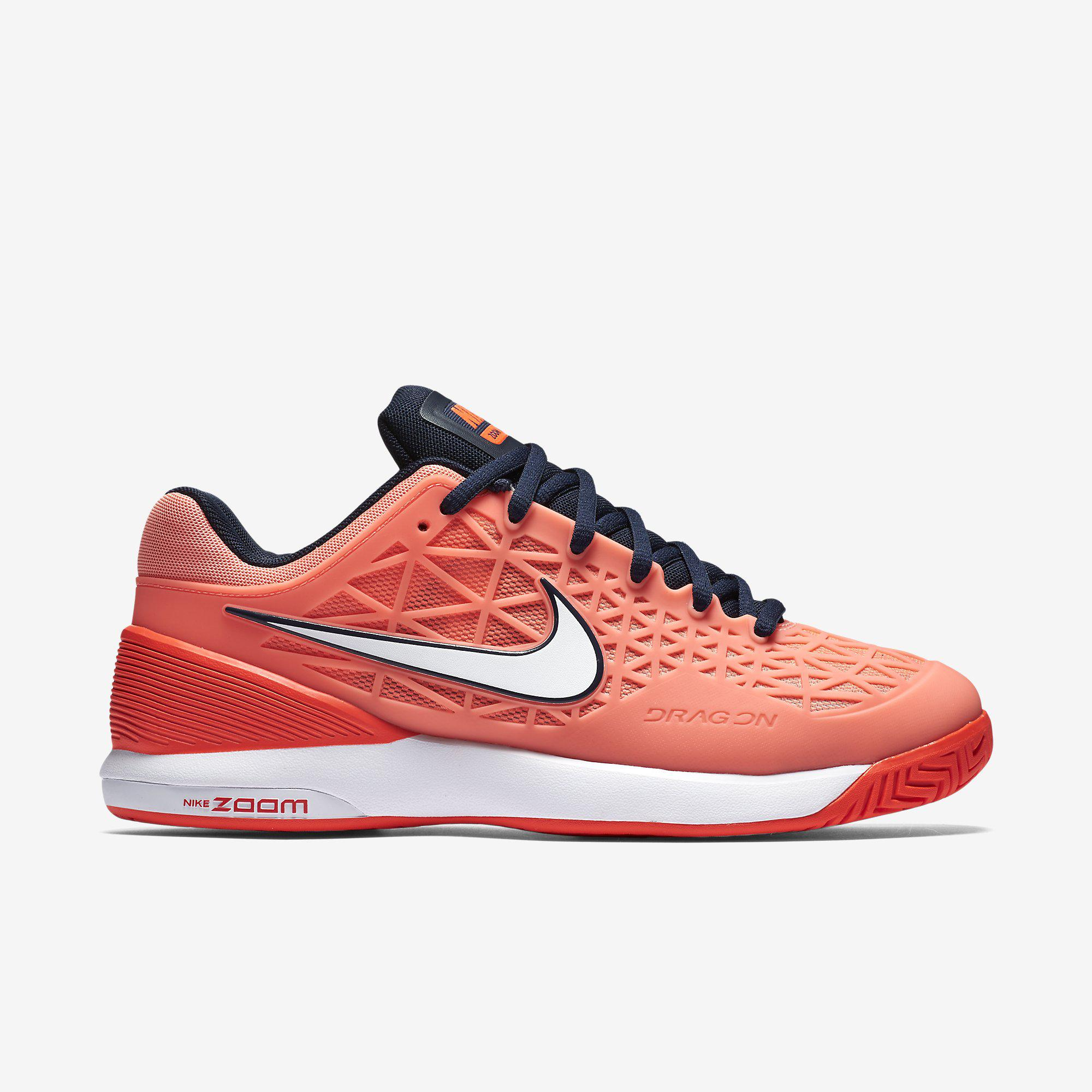 79961e7fa1 ... Nike Womens Zoom Cage 2 Tennis Shoes - Orange Coral  Best Selling Mens  ...