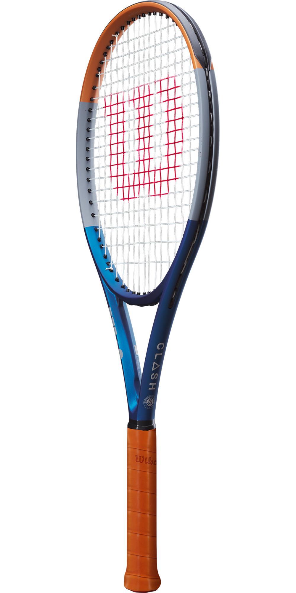 Wilson Clash 100 Roland Garros Tennis Racket [Frame Only ...