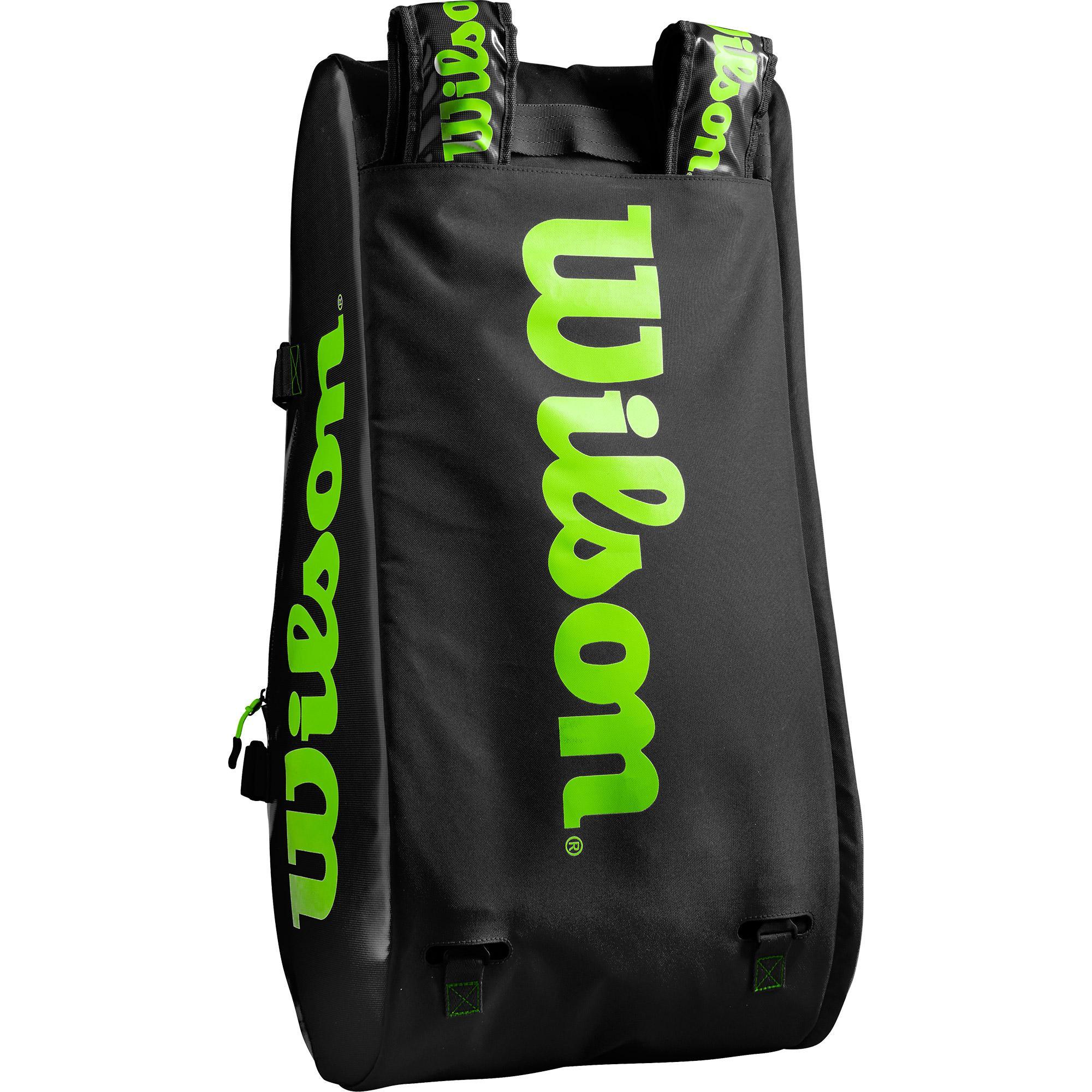 Wilson Super Tour 15 Racket Bag - Black