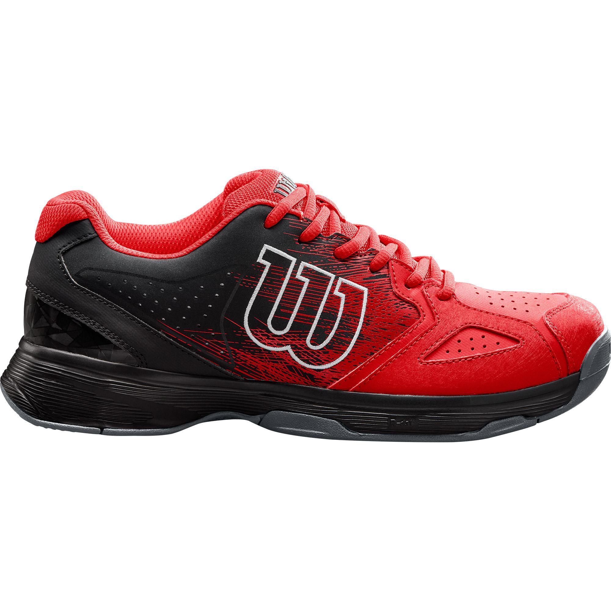 e483fd611f7b Wilson Mens Kaos Stroke Tennis Shoes - Red Black White - Tennisnuts.com