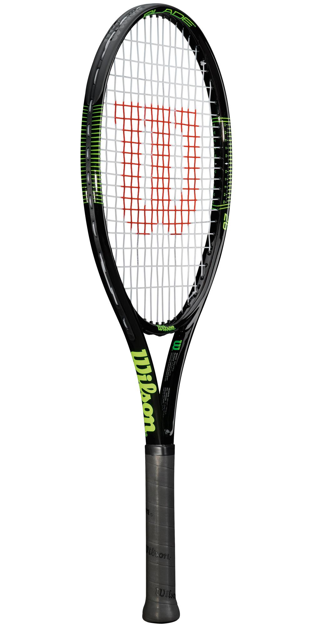 Wilson Blade 26 Inch Junior Tennis Racket - Black/Green ...