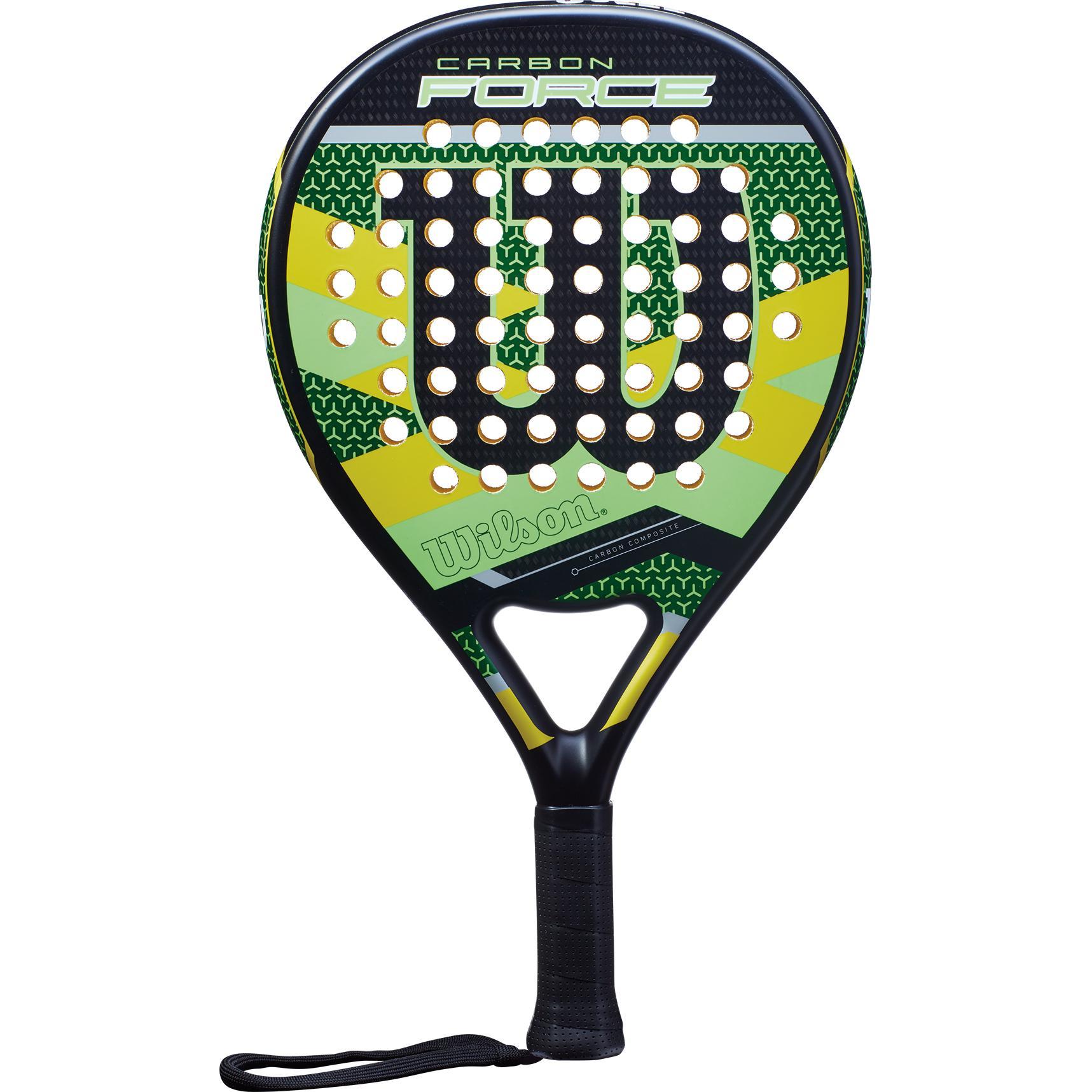 Wilson Carbon Force Padel Racket - Green Black - Tennisnuts.com 598e9ff78d6d5