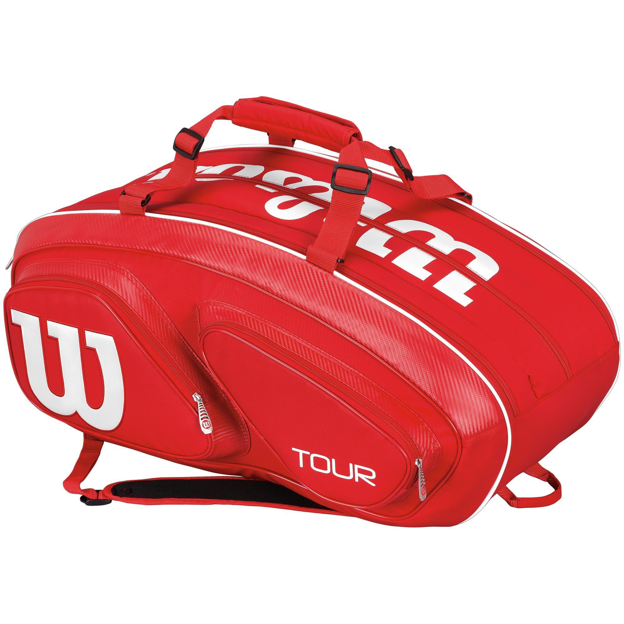 Tour V Red  Pack Tennis Bag