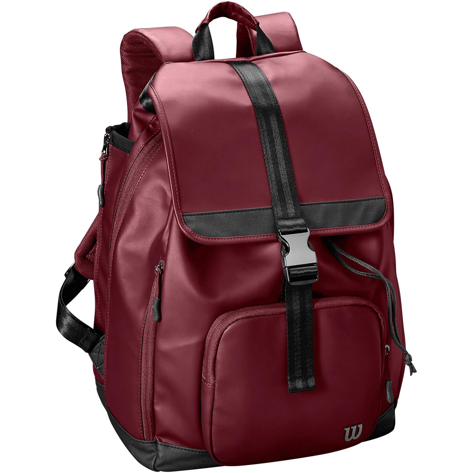 Wilson Womens Fold Over Backpack - Purple - Tennisnuts.com