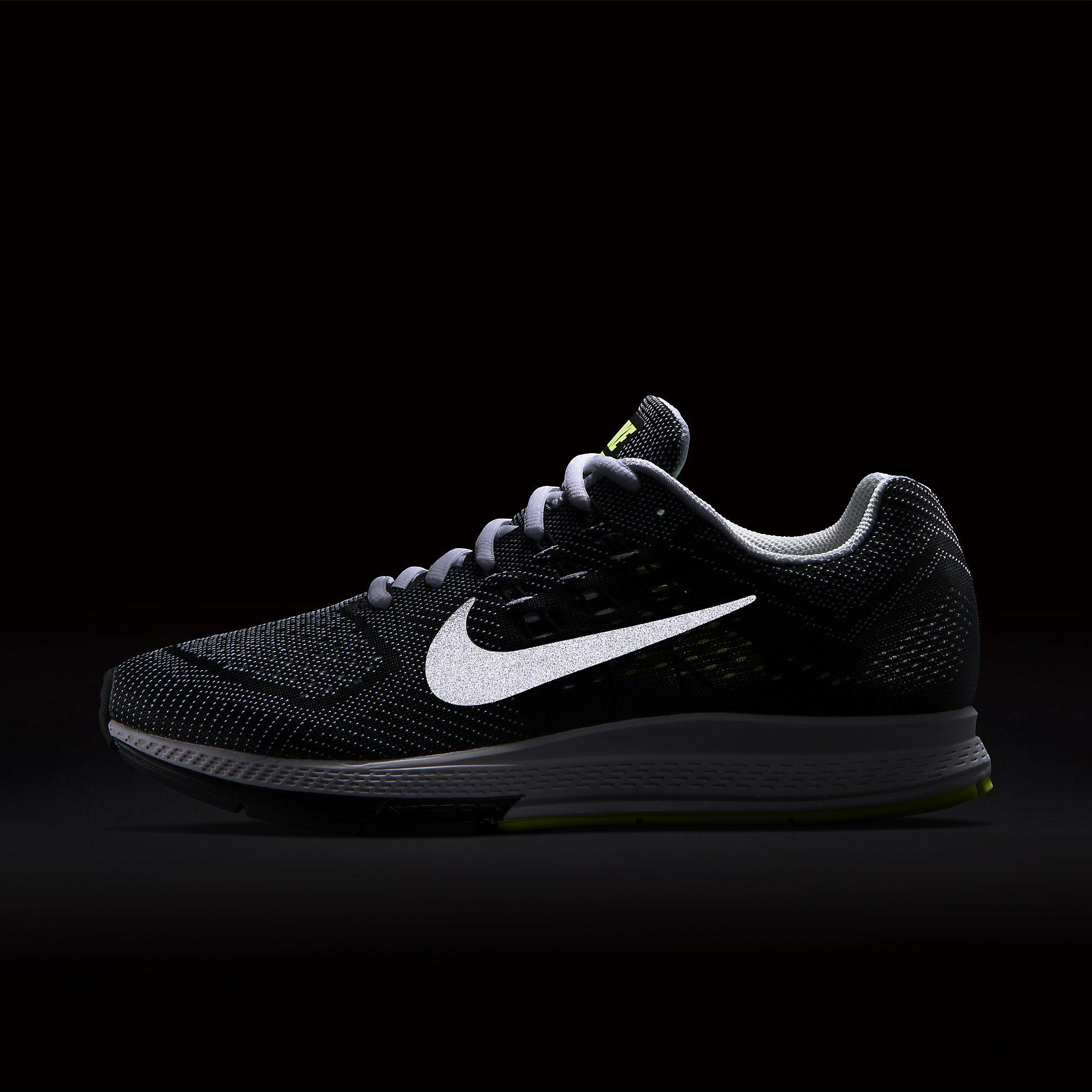 Out Of Stock. Nike Mens Air Zoom Structure 18 Wide Fit Running Shoes ...