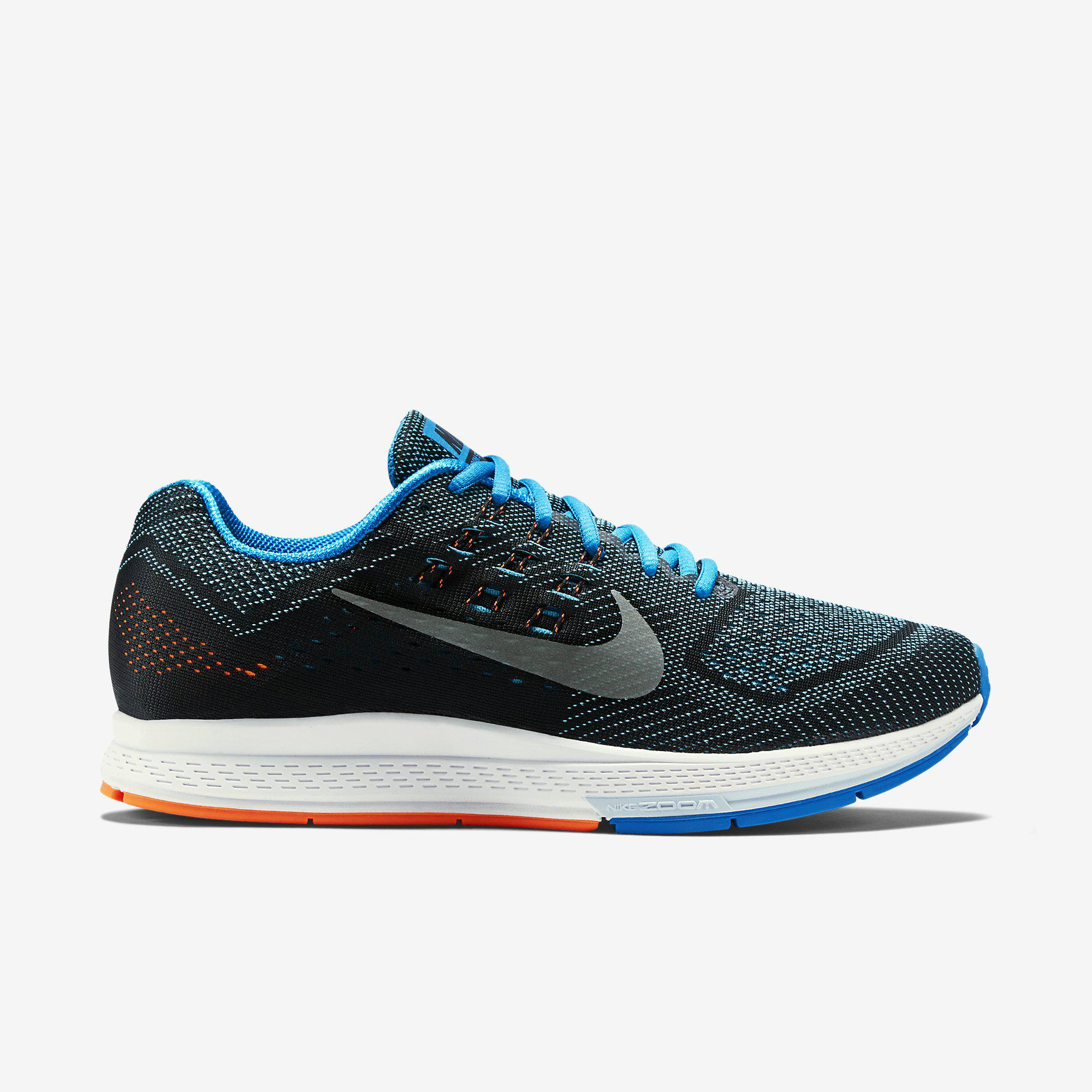 32bc550b9b62 Nike Mens Air Zoom Structure 18 Running Shoes - Blue Lagoon - Tennisnuts.com