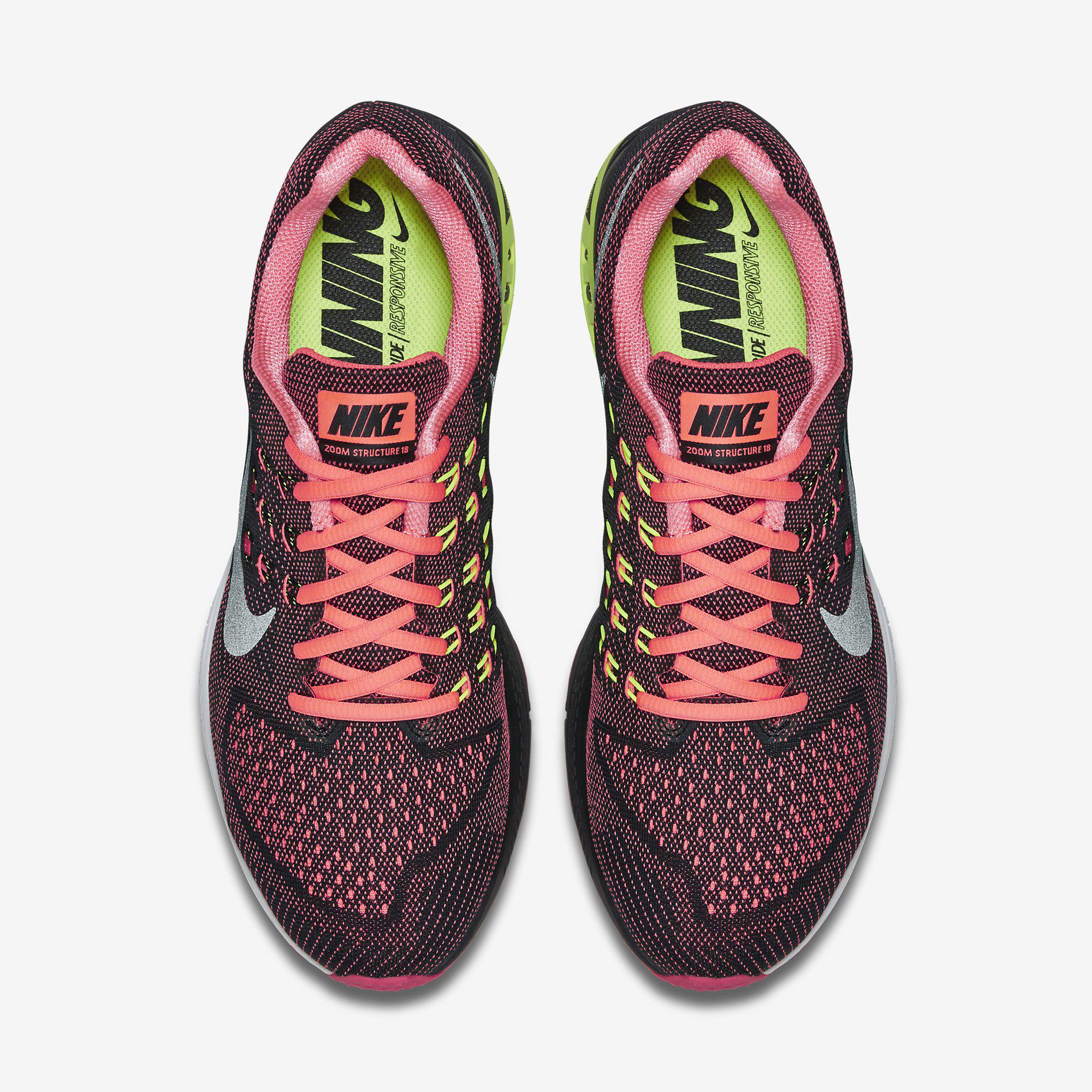Out Of Stock. Nike Mens Air Zoom Structure 18 Running ...