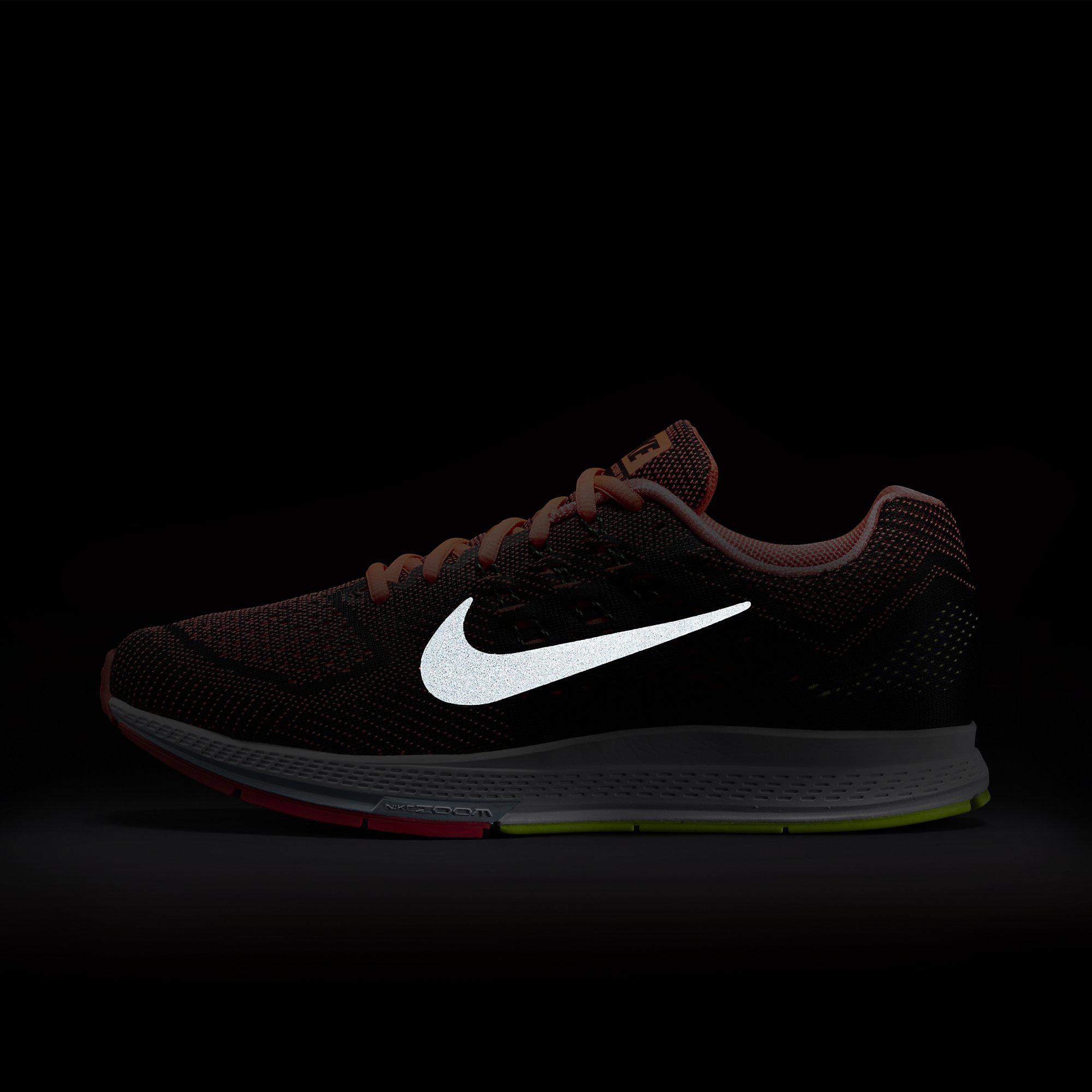 premium selection ce0de eebfe ... france nike mens air zoom structure 18 running shoes hot lava black  e3a97 afd3a