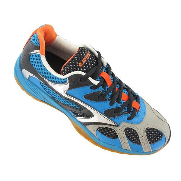 7a4e0c3d6b22 Hi-Tec Mens Ad Pro Elite Squash Badminton Shoes - Electric Blue ...