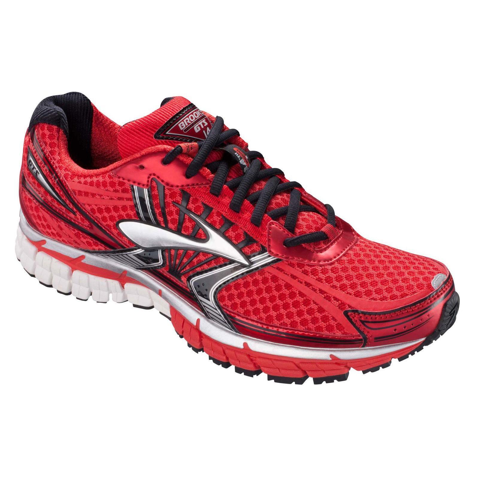 272a904ed89aa Brooks Mens Adrenaline GTS 14 Running Shoes - Red - Tennisnuts.com