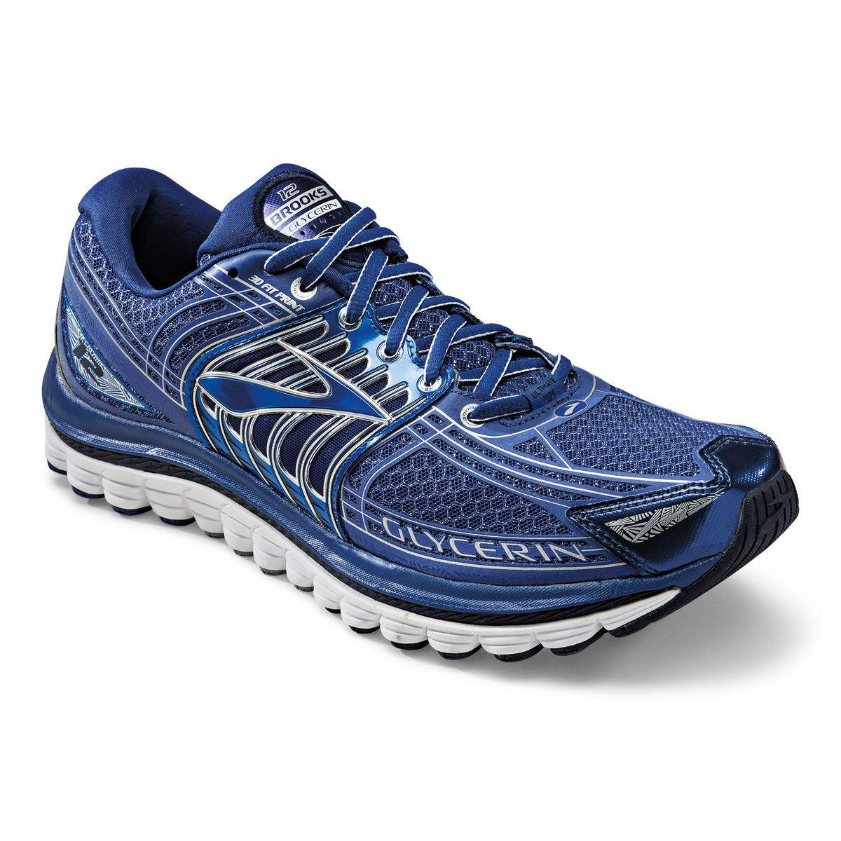 bc6070d8154d Brooks Mens Glycerin 12 Running Shoes - Sodalite Blue - Tennisnuts.com
