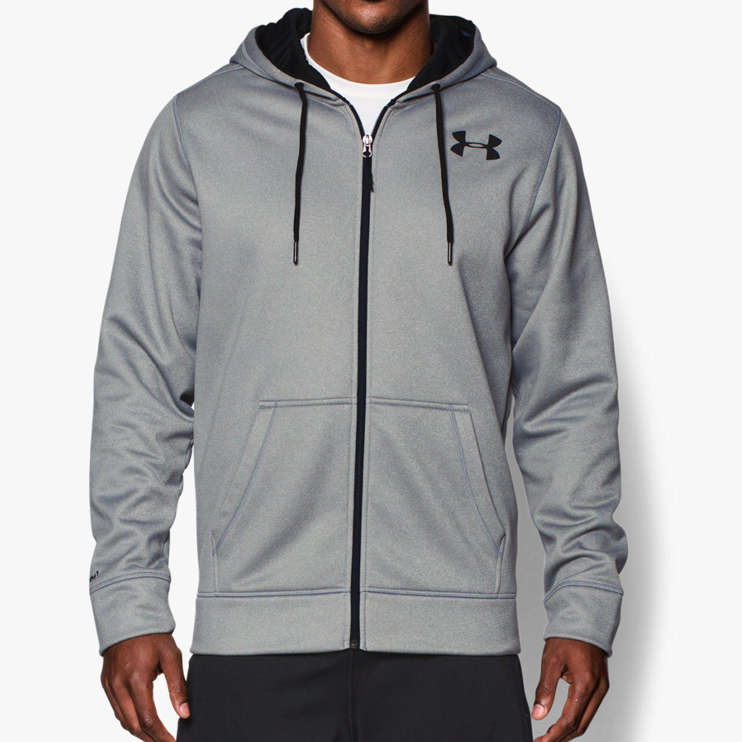 Under Armour Mens Armour Fleece UA Full Zip Hoodie