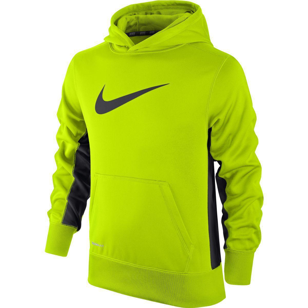 Nike Boys KO 2.0 Pullover Hoodie VoltAnthracite