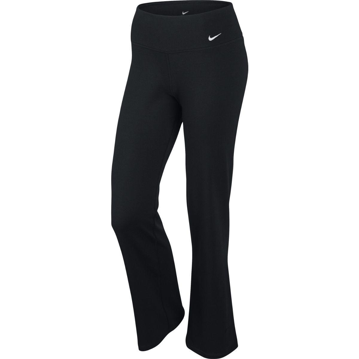 0c3aa0751c Nike Womens Dri-FIT Cotton Legend 2.0 Pants - Black - Tennisnuts.com