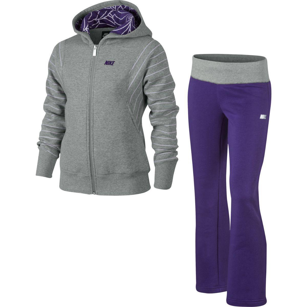 Nike Girls YA76 Tri Graphics Glam Brush Fleece Tracksuit - Grey Purple -  Tennisnuts.com daa434dd8cbc