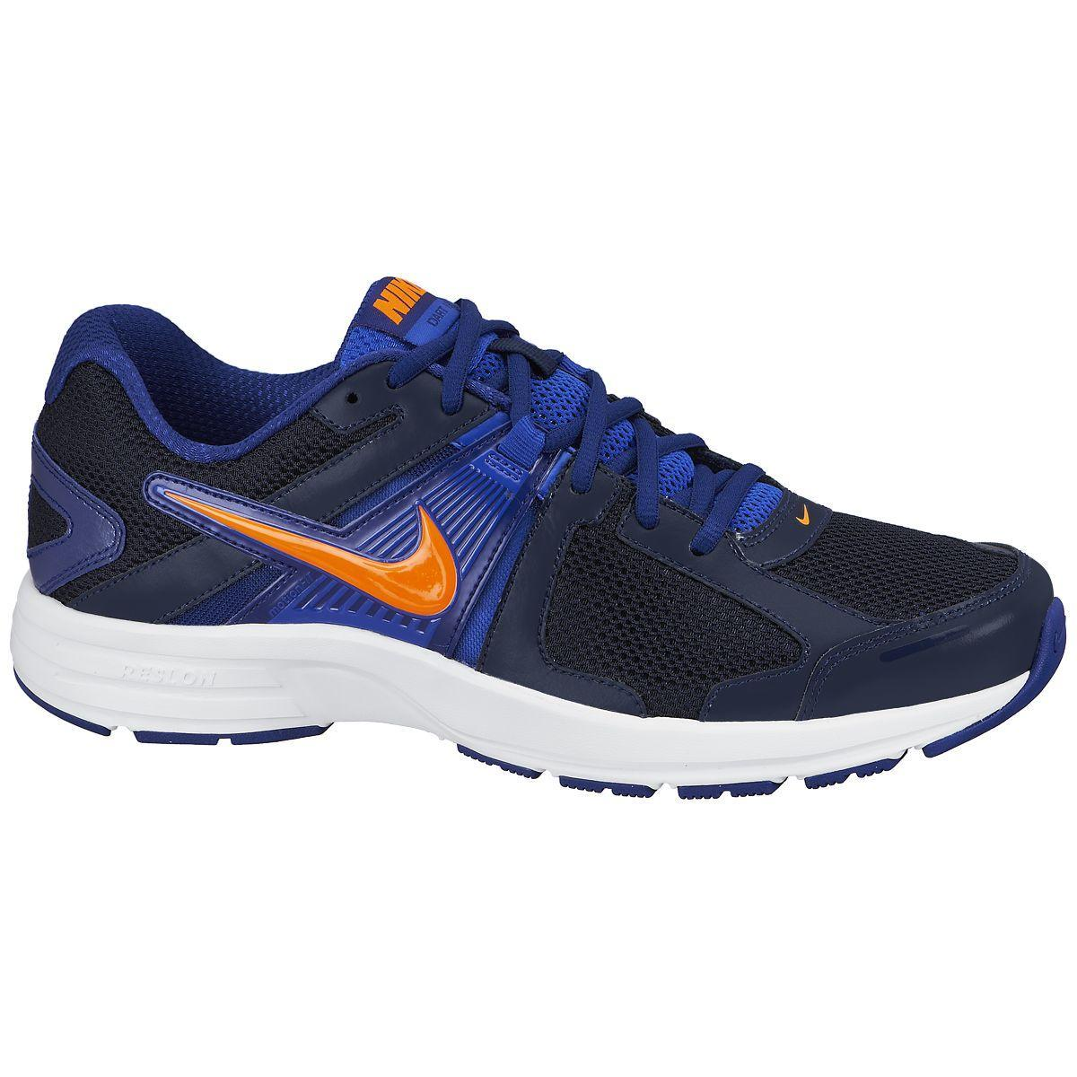 ca42ff3ab2ae4 Nike Mens Dart 10 Running Shoes - Obsidian Deep Royal Blue - Tennisnuts.com