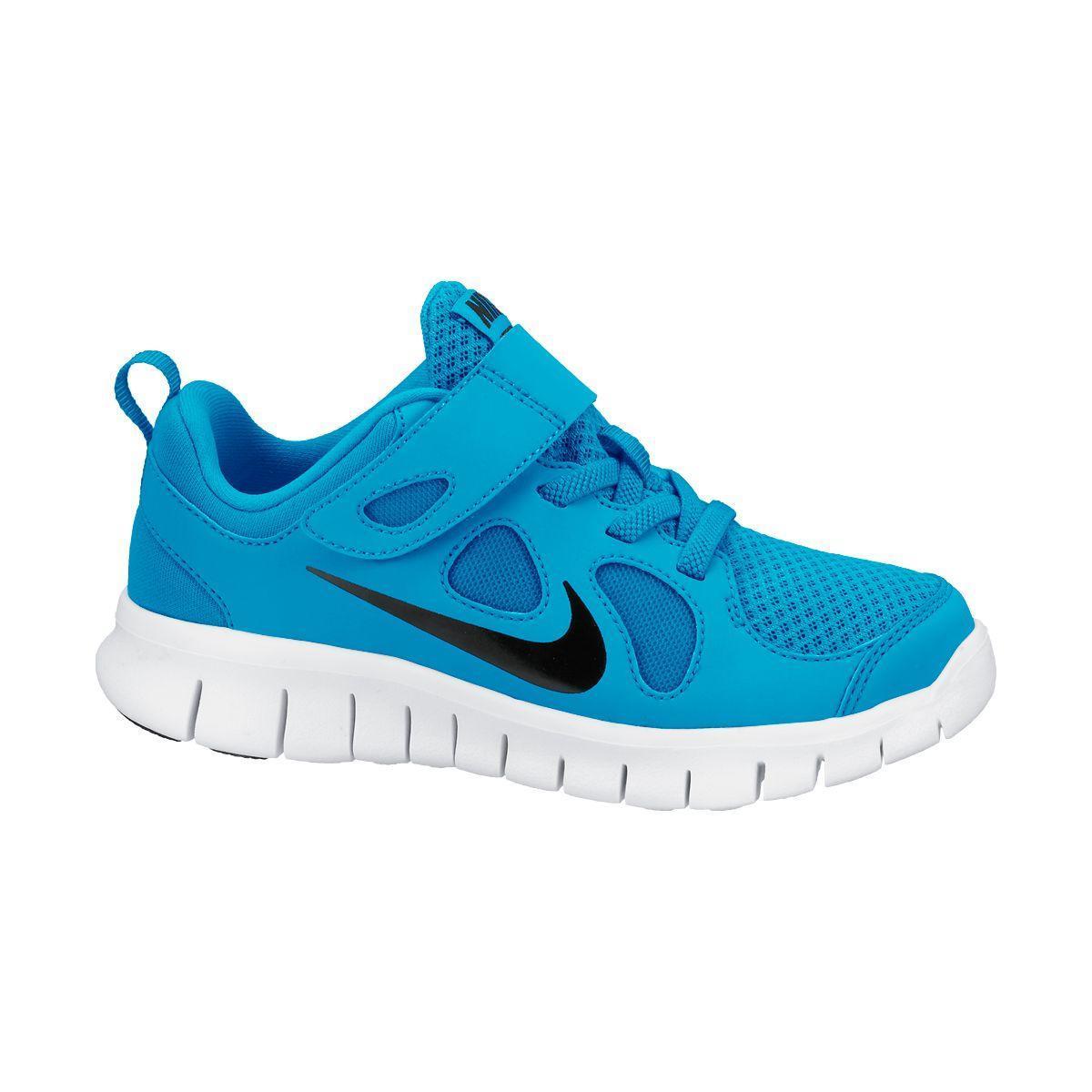 Nike Little Boys Free 5.0+ Running Shoes - Blue ...