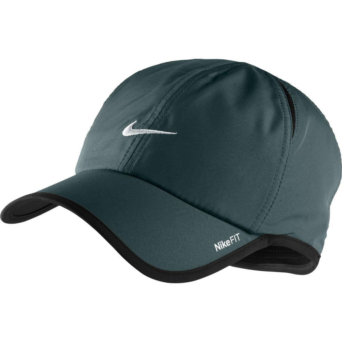 Nike Mens Dri Fit Featherlite Cap Dark Blue Tennisnuts Com