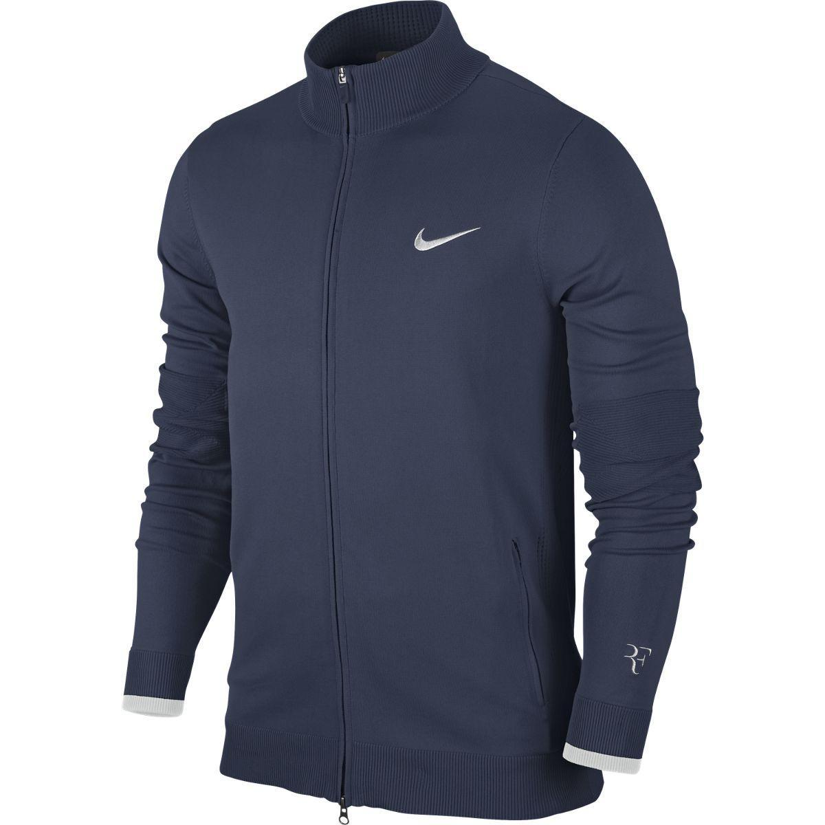 nike zip up jacket mens silver
