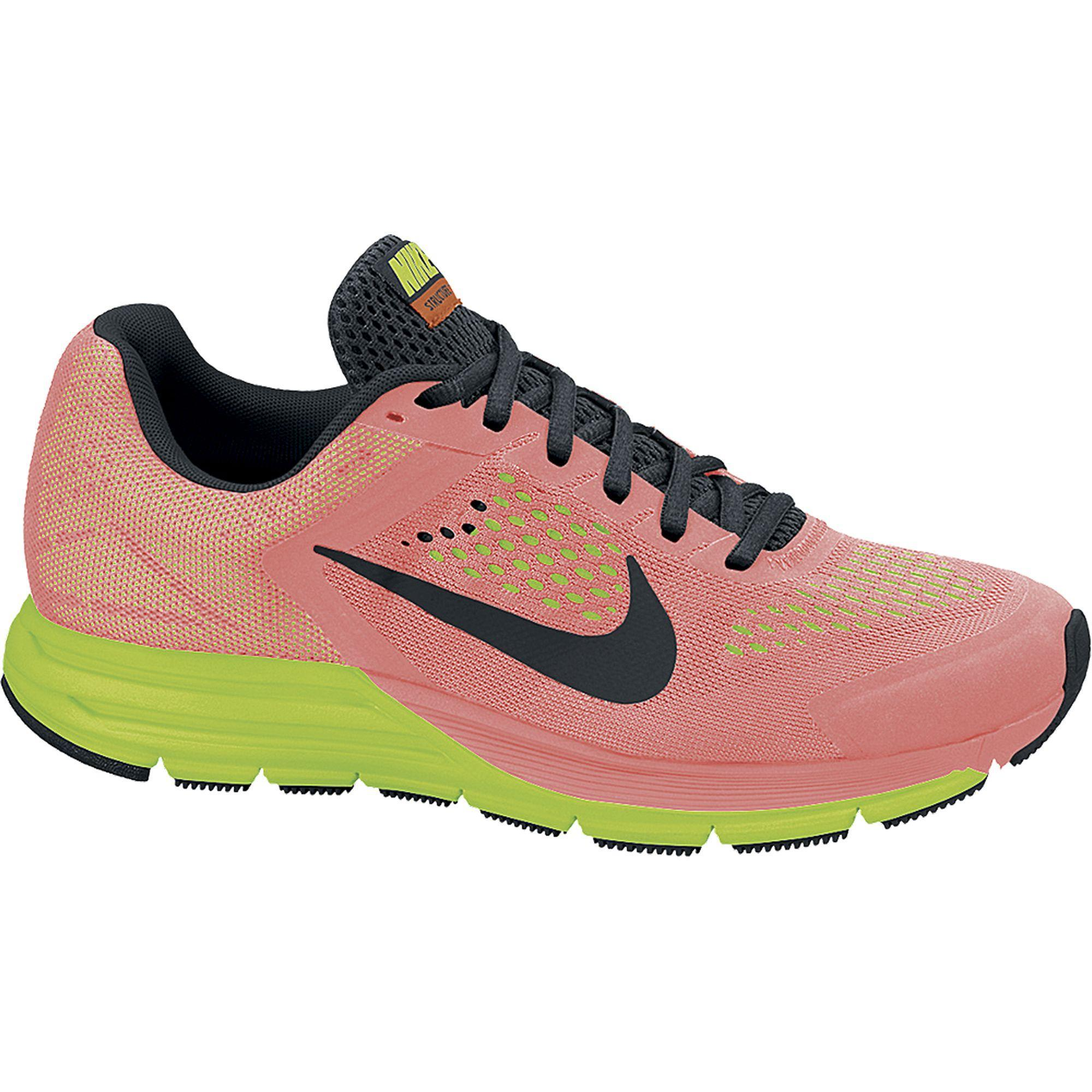 6fdf4c7bb1ec9 ... amazon nike womens zoom structure 17 running shoes bright mango volt  tennisnuts 7c154 d3deb
