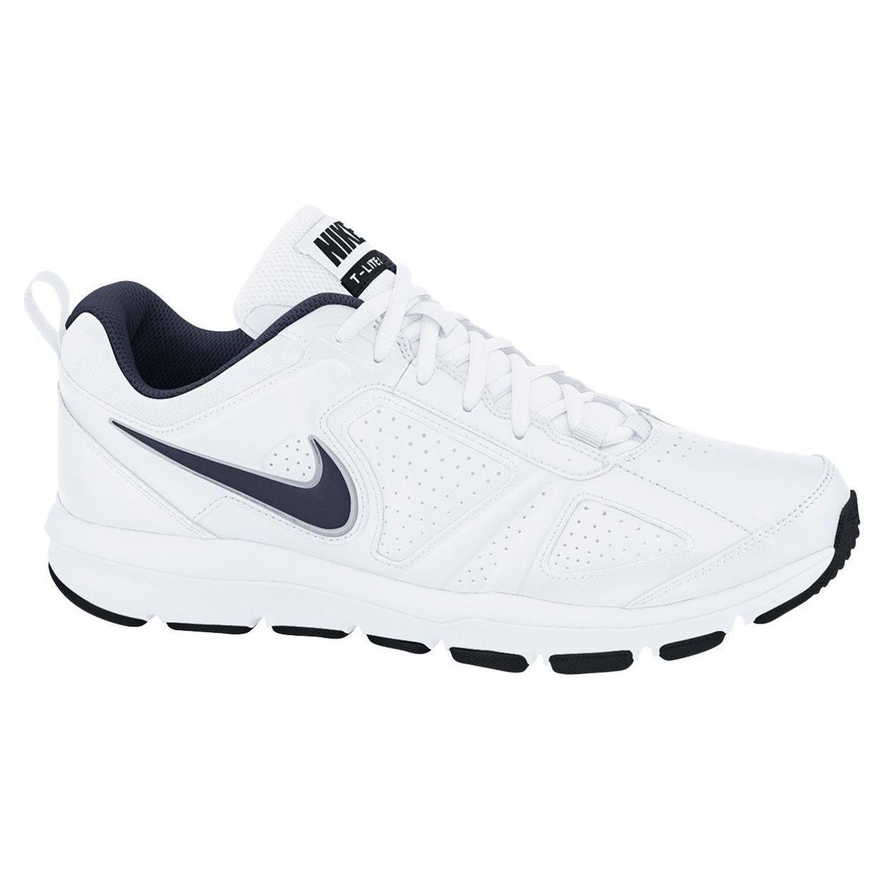 nike mens t lite xi training shoes white. Black Bedroom Furniture Sets. Home Design Ideas