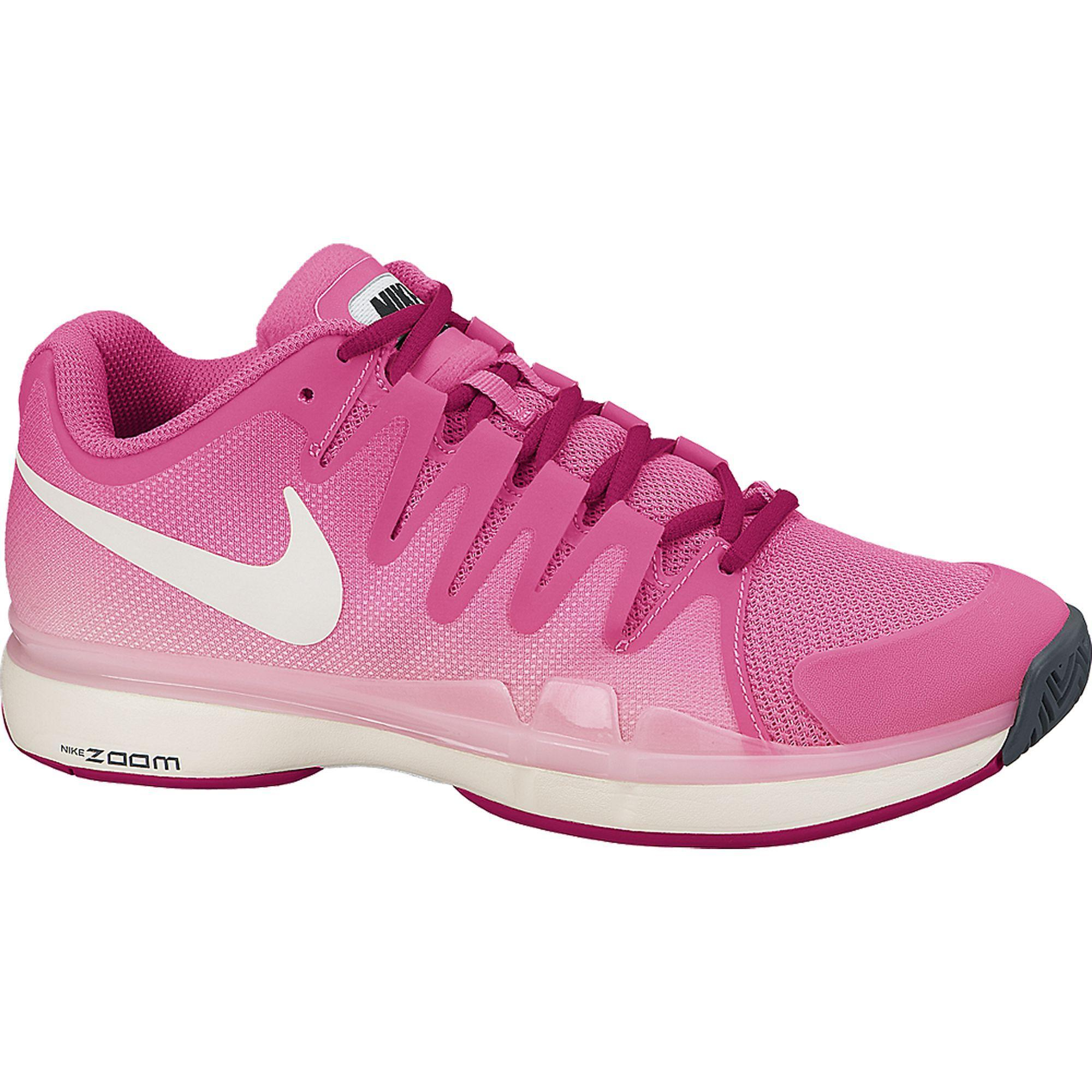 Nike Womens Zoom Vapor 9.5 Tour Tennis Shoes PinkIvory