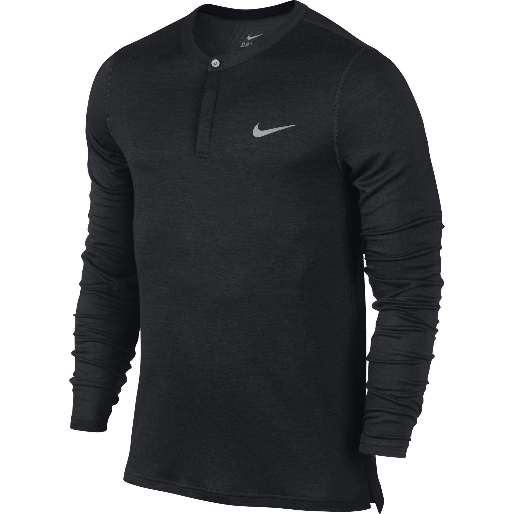 Mens Long Sleeve Henley Shirts