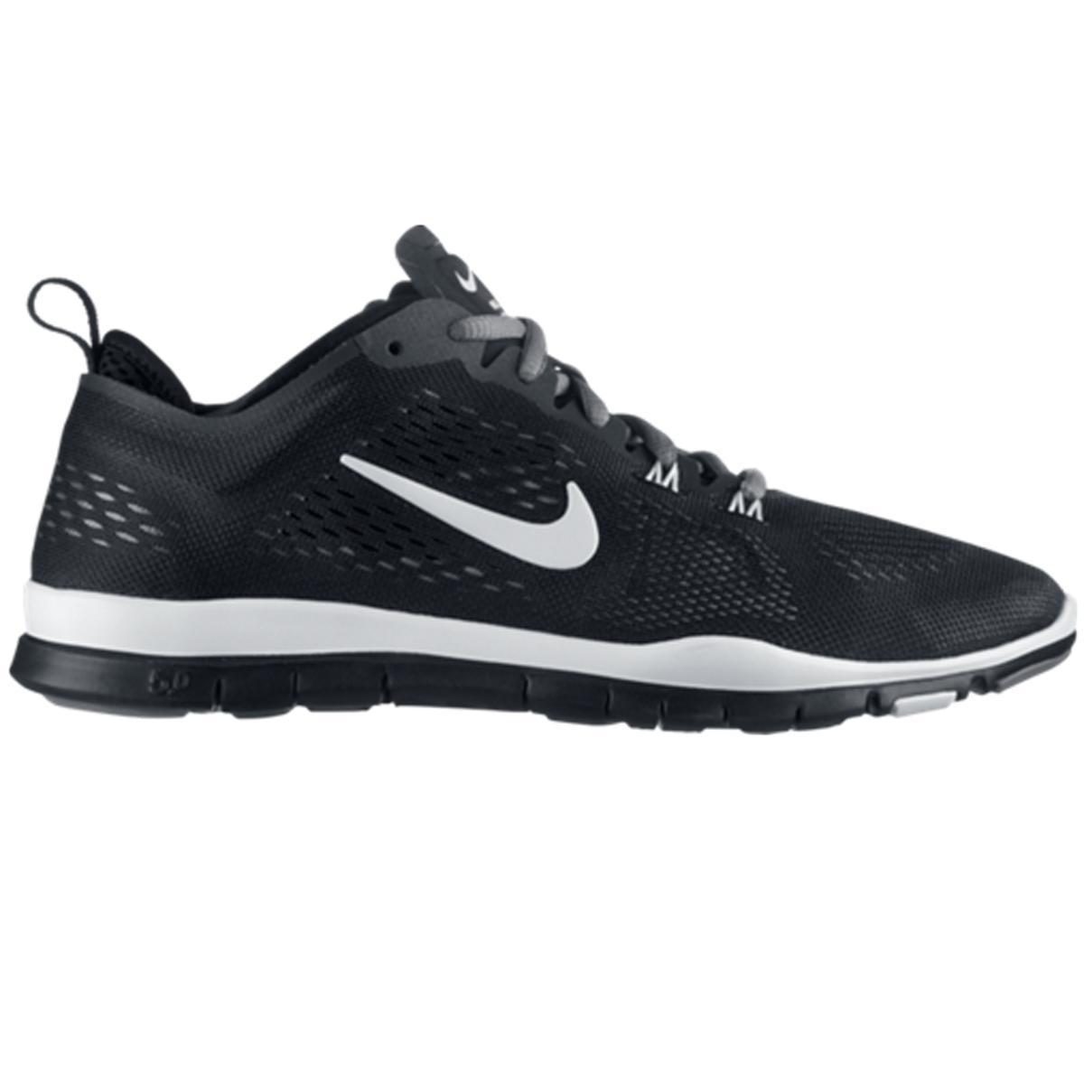 05e61df053464 Nike Womens Free 5.0 TR Fit 4 Breath Training Shoes - Black White -  Tennisnuts.com