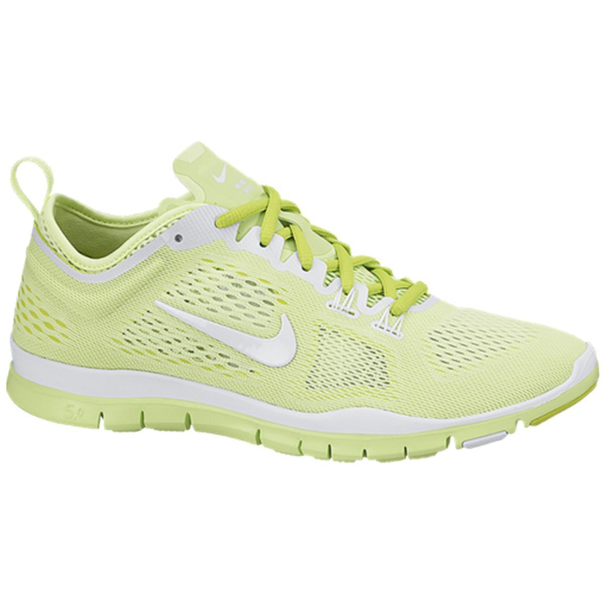 Nike Damenns Free 5.0 TR Fit 4 Breath Training schuhe Lime Green