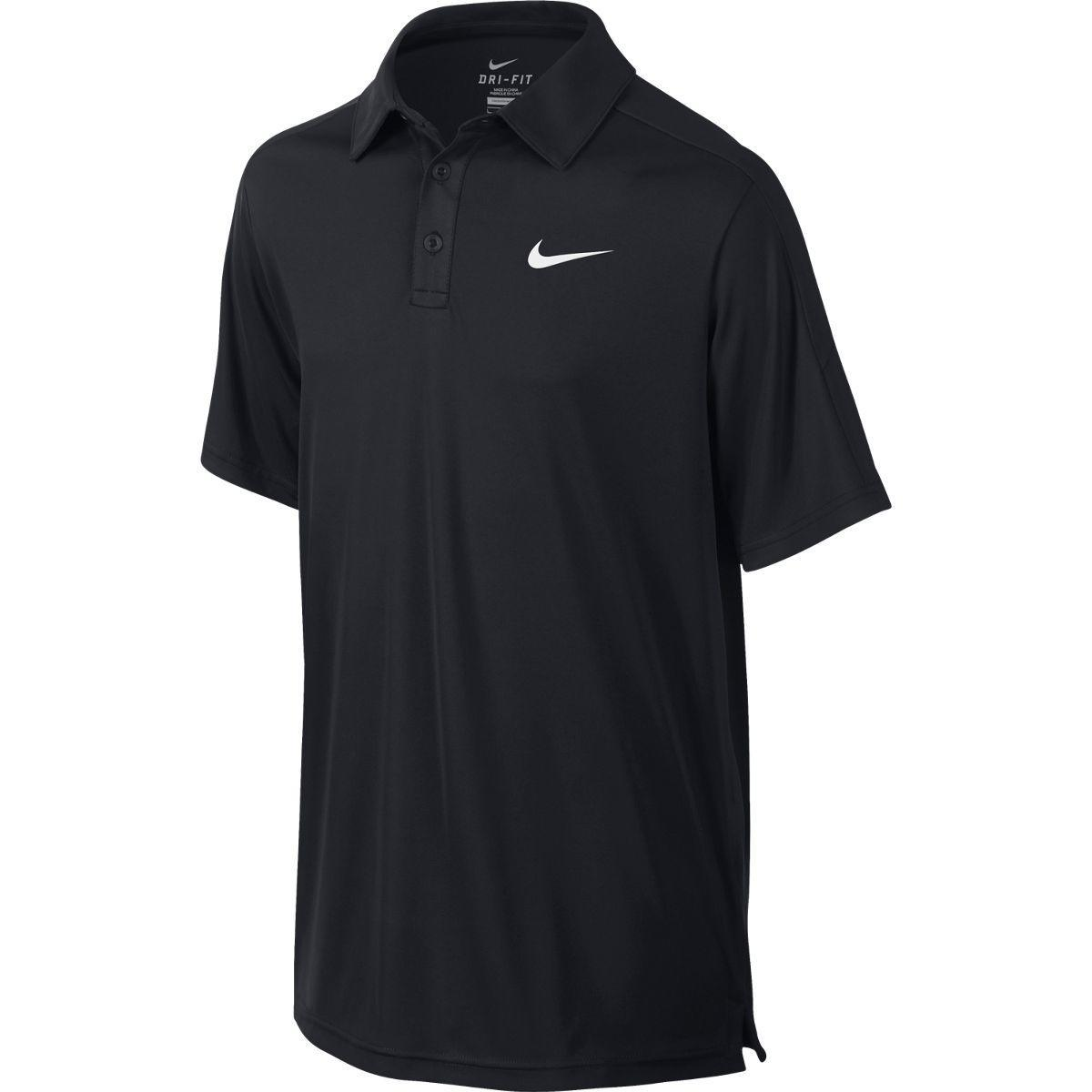 boys nike dri fit polo