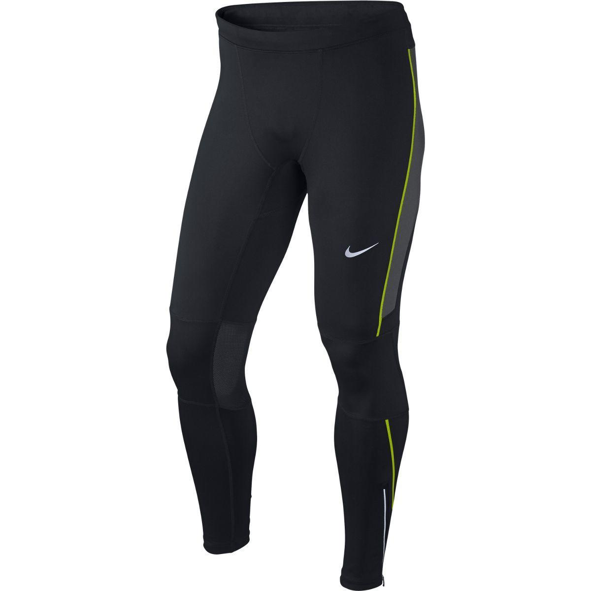 Nike Mens Dri-FIT Essential Running Tights - Black/Anthracite