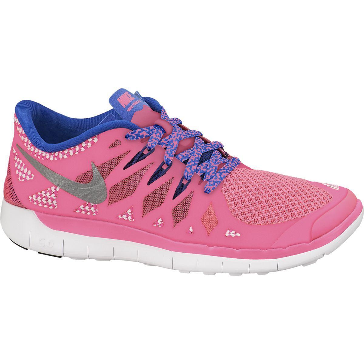 huge selection of 162e5 0ebbd Nike Girls Free 5.0+ Running Shoes - Hyper Pink Hyper Cobalt -  Tennisnuts.com