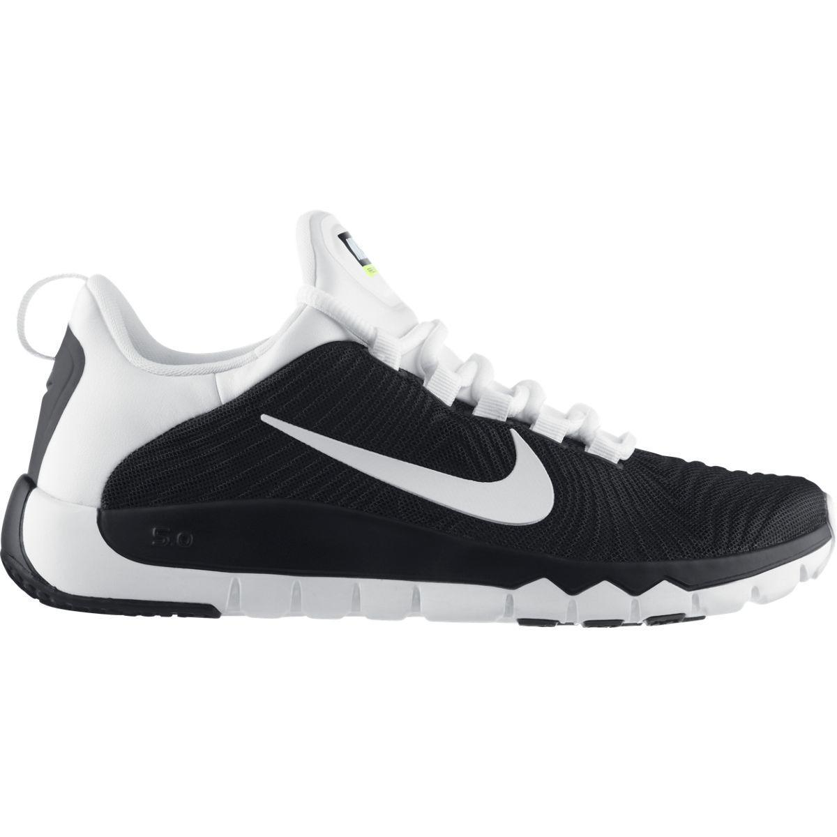 Nike Mens Free Trainer 5.0 Training Shoes - Black White - Tennisnuts.com 25ee07379