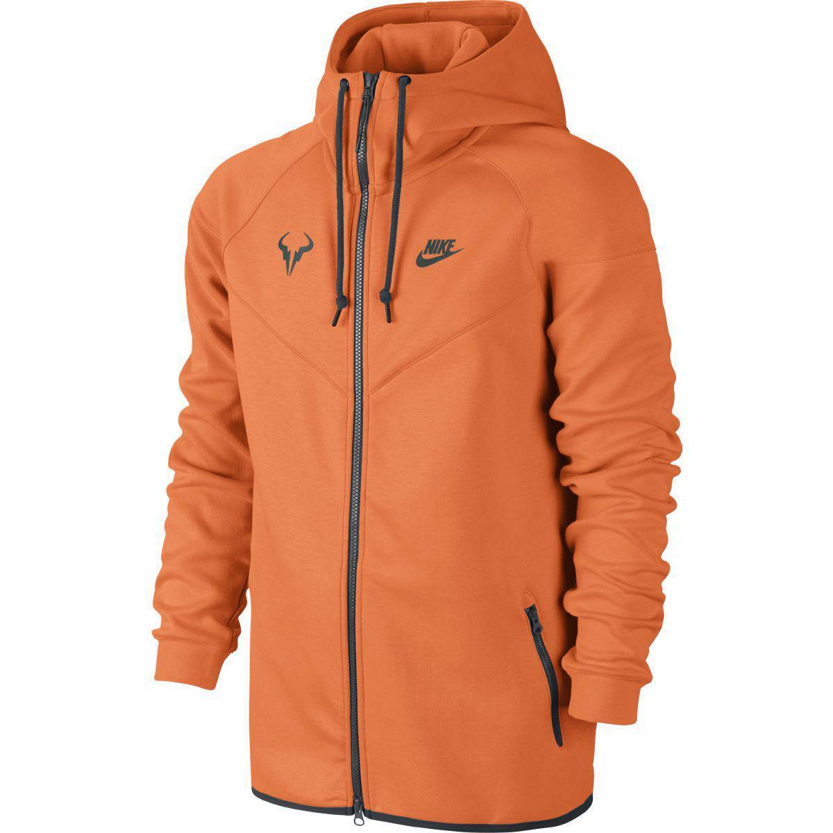 4c45189ee470 Nike Mens Premier Rafa Jacket - Orange Glow - Tennisnuts.com